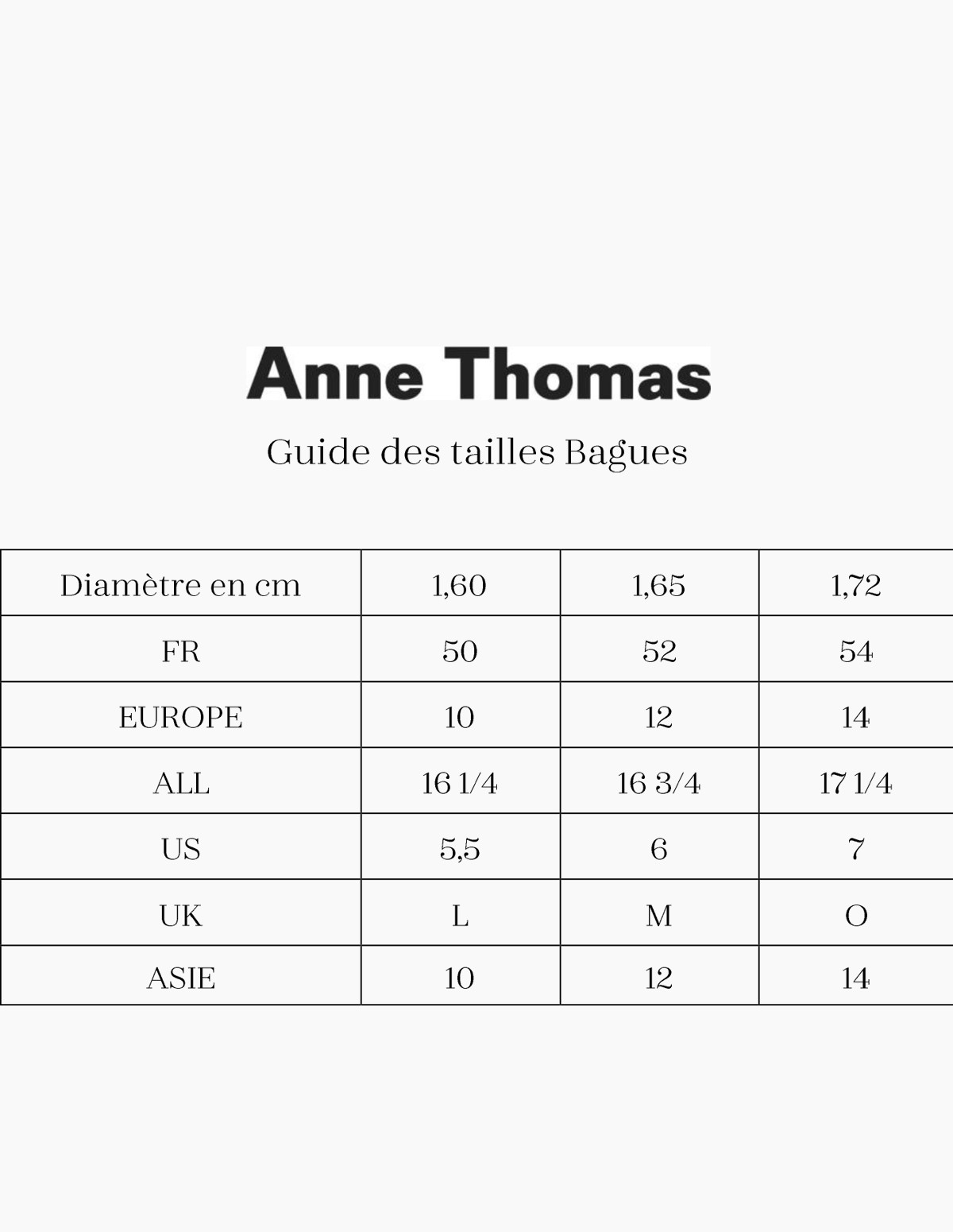 Anne Thomas Cassiopee Bague