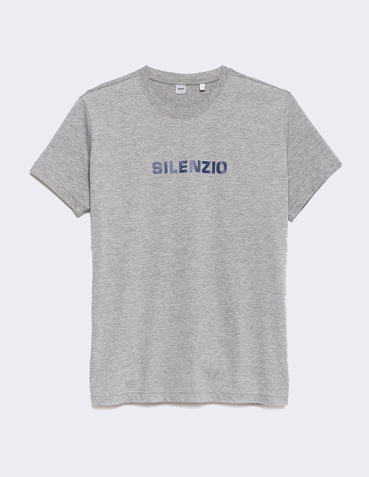 Aspesi T-shirt Silenzio - MEDIUM GREY