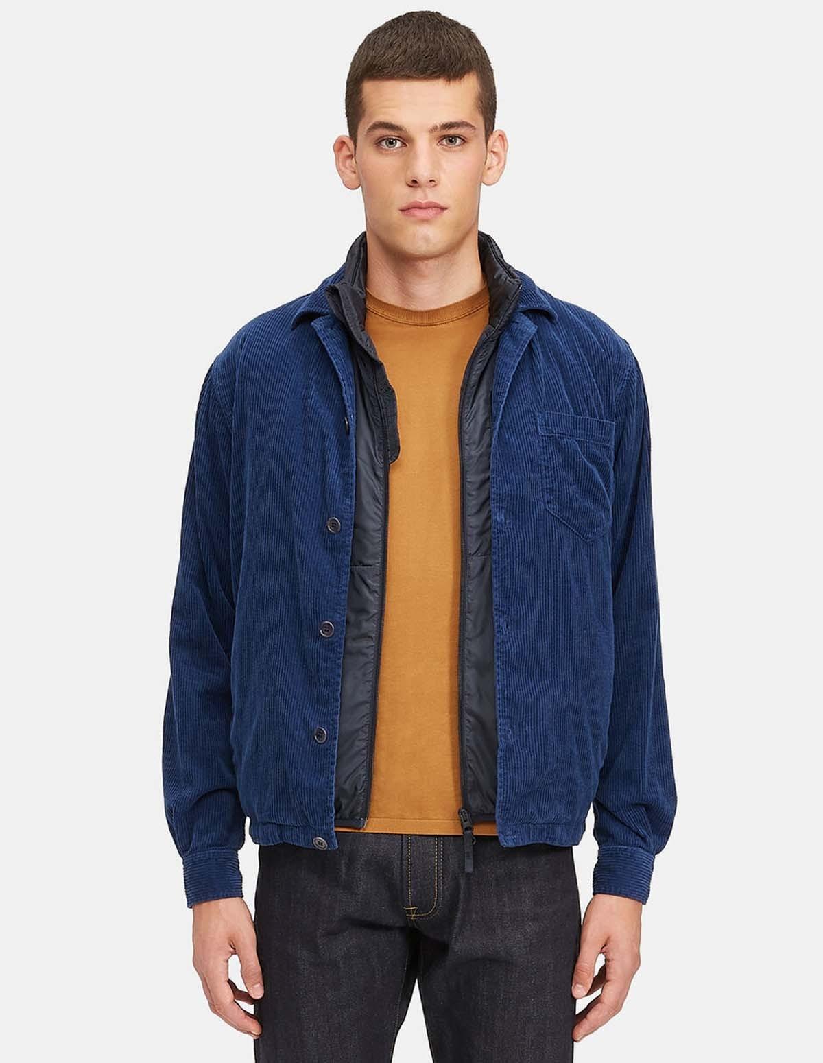 Aspesi Bongo Shirt Jacket - NAVY