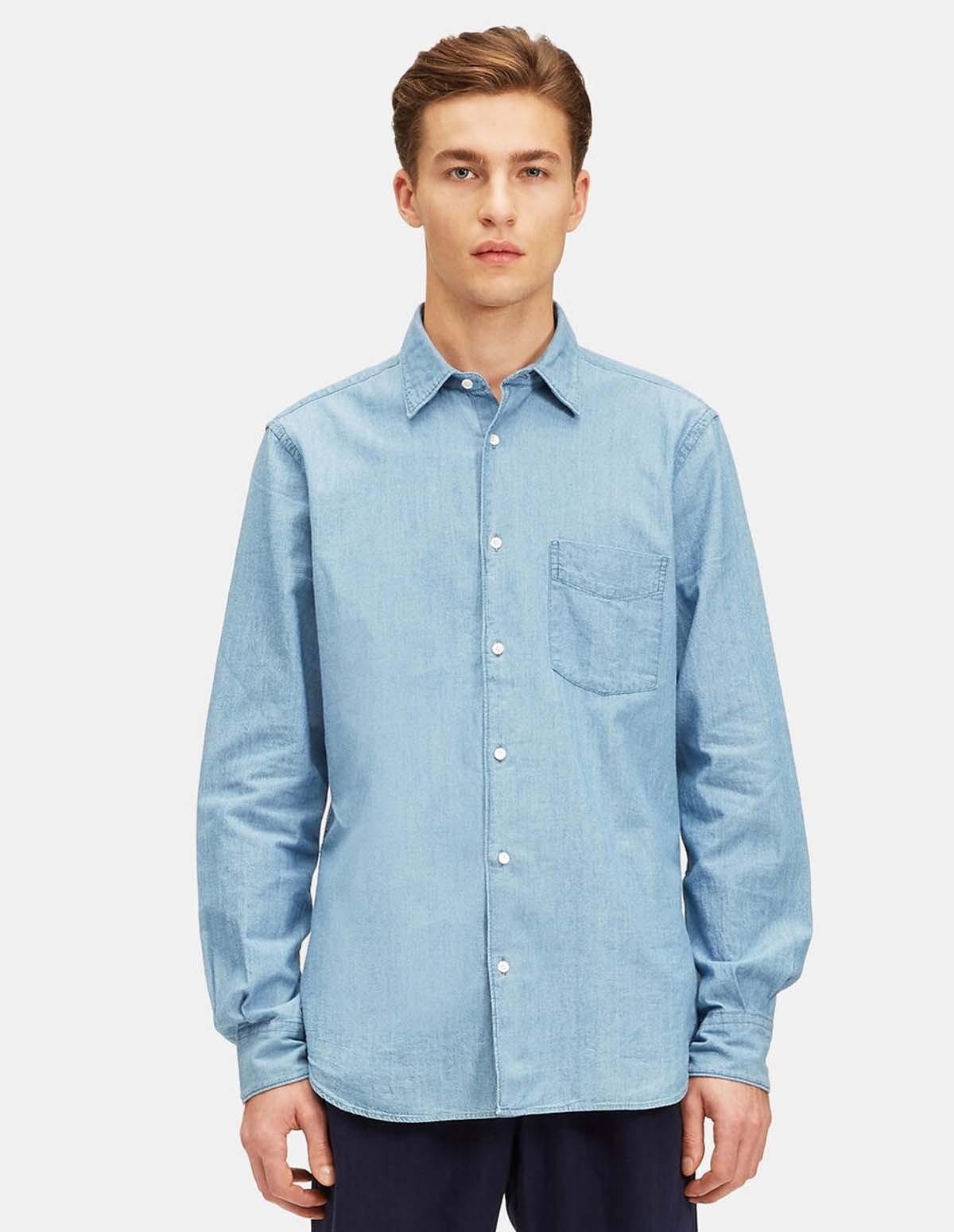 Aspesi Mod Sedici Shirt - MEDUIM DEN