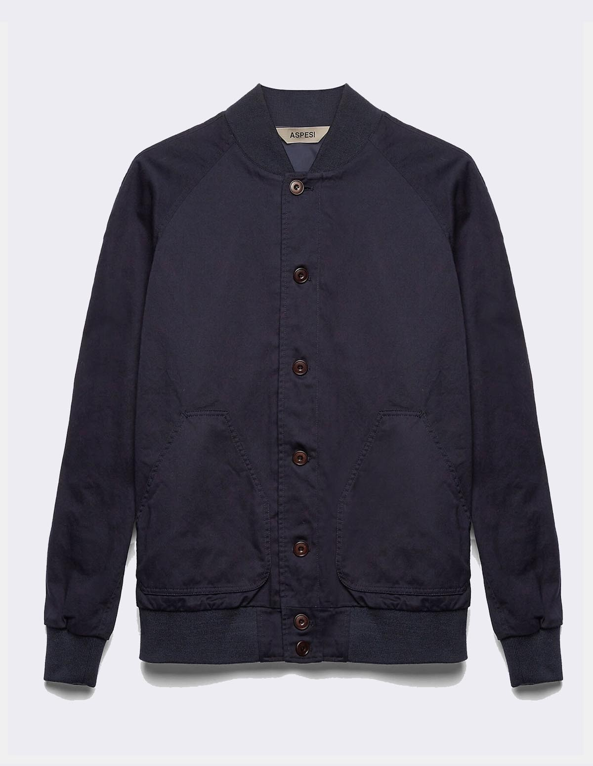 Aspesi Men's Jacket Oxford - NAVY