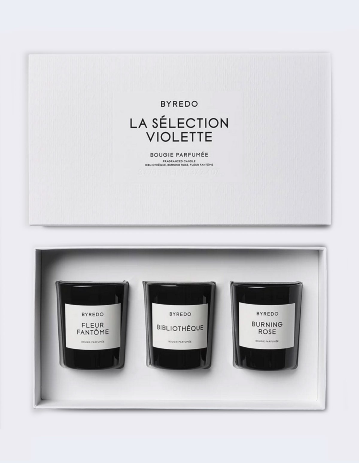 Byredo Mini Candles Set - VIOLET
