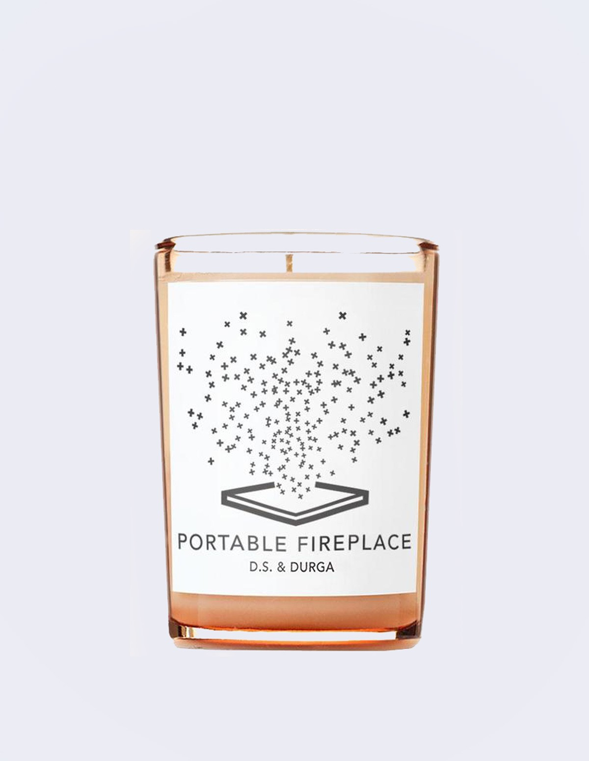 Portable Fireplace Candle 7 Oz