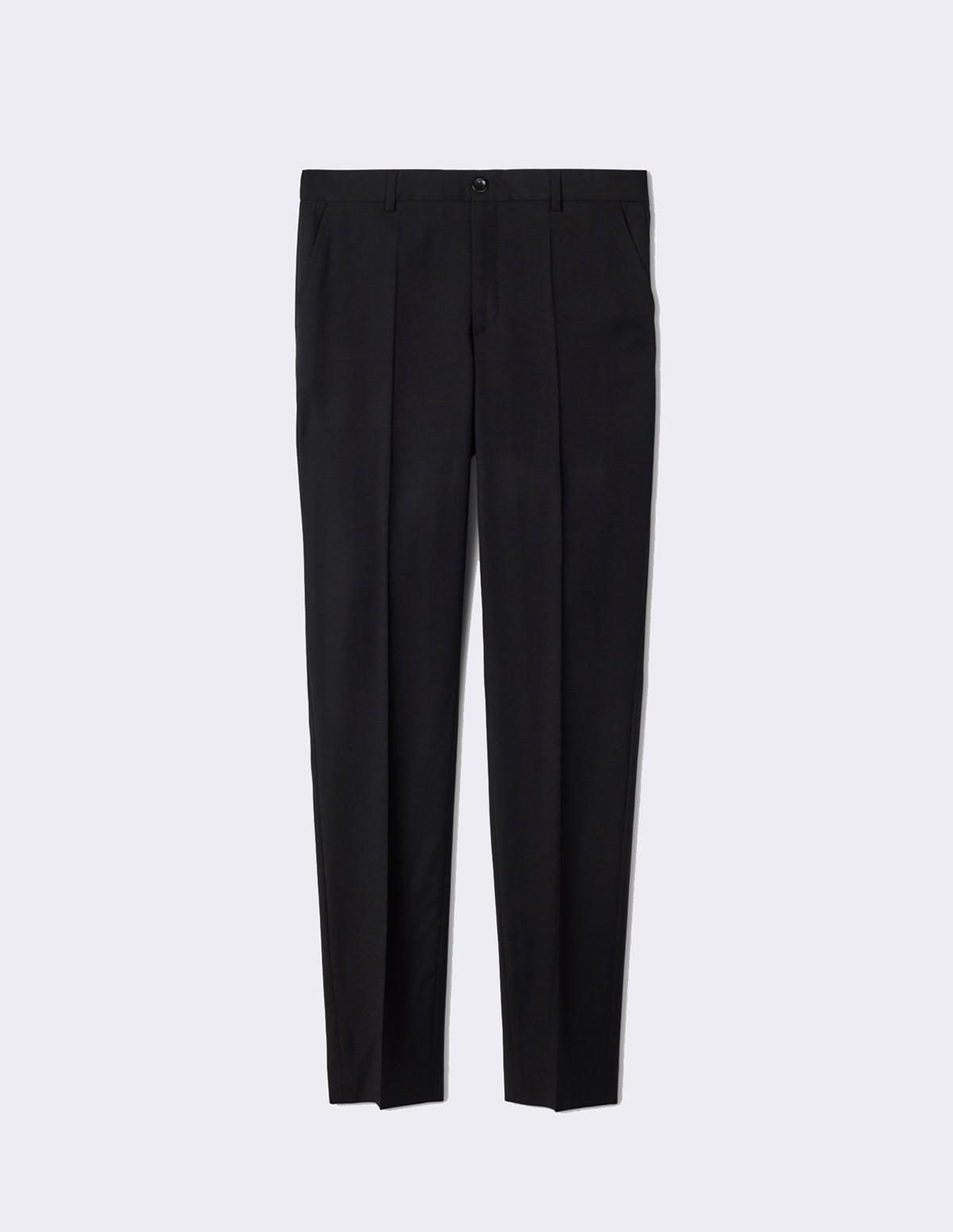 Fk Luisa Cool Wool Trouser - BLACK