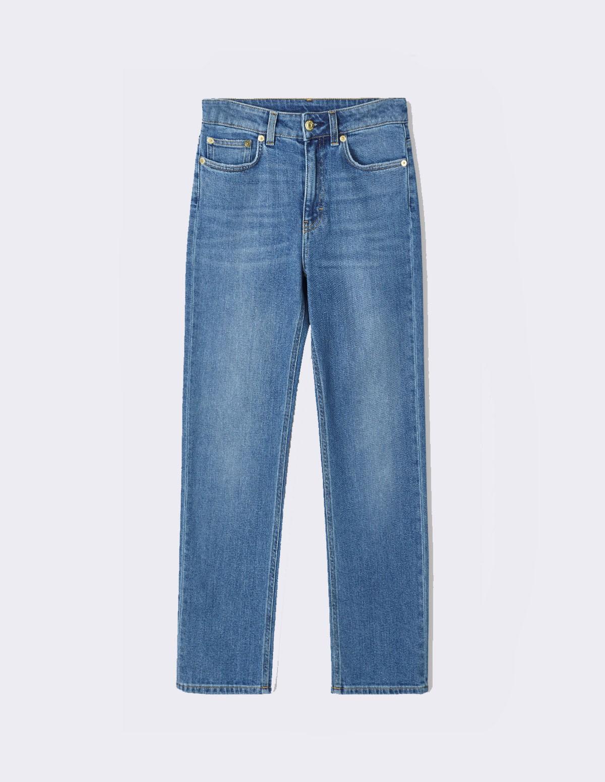 Fk Stella Washed Jean - MID BLUE