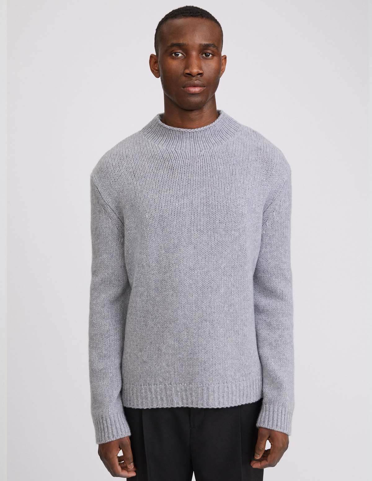 Fk Tate Turtleneck Sweater - WARM GREY