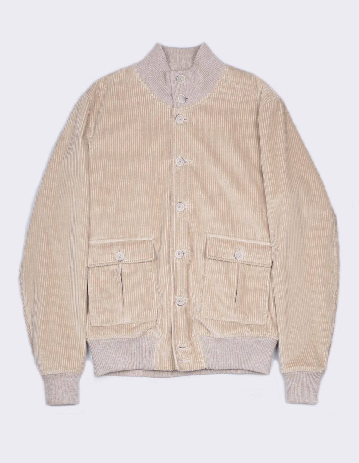 Ft Corduroy Jacket - BEIGE