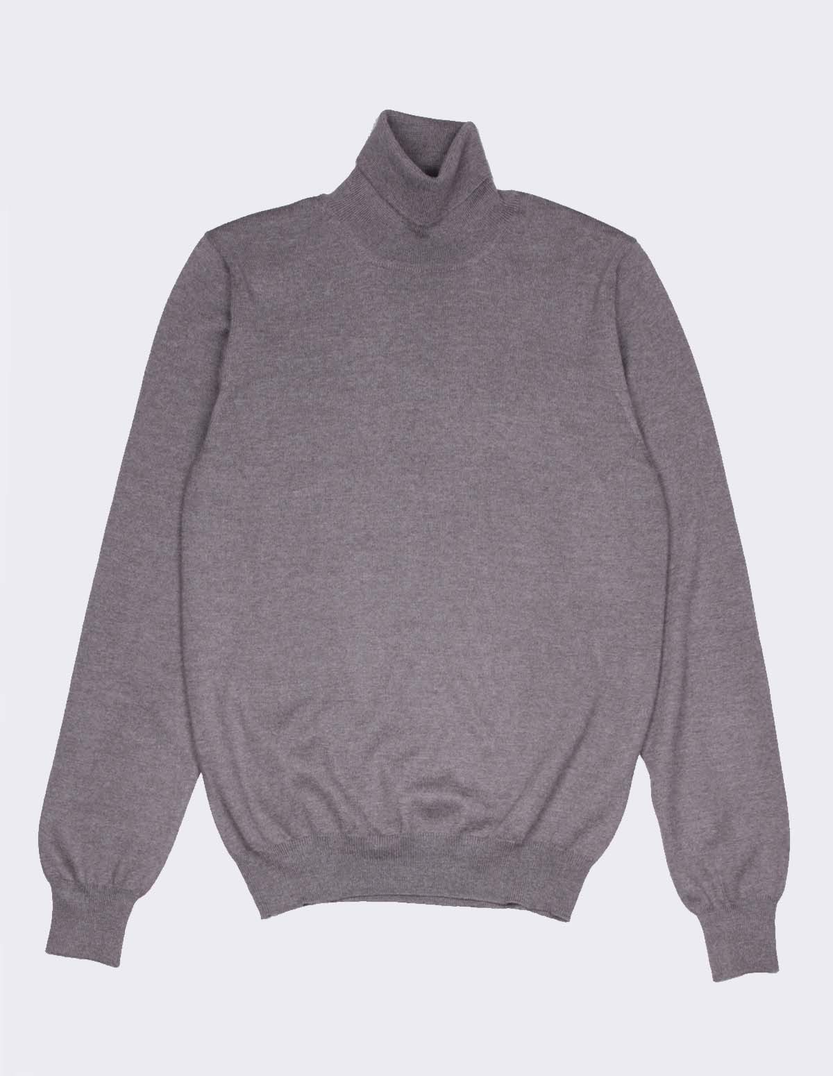 Ft Rollneck Sweater - TAUPE 046