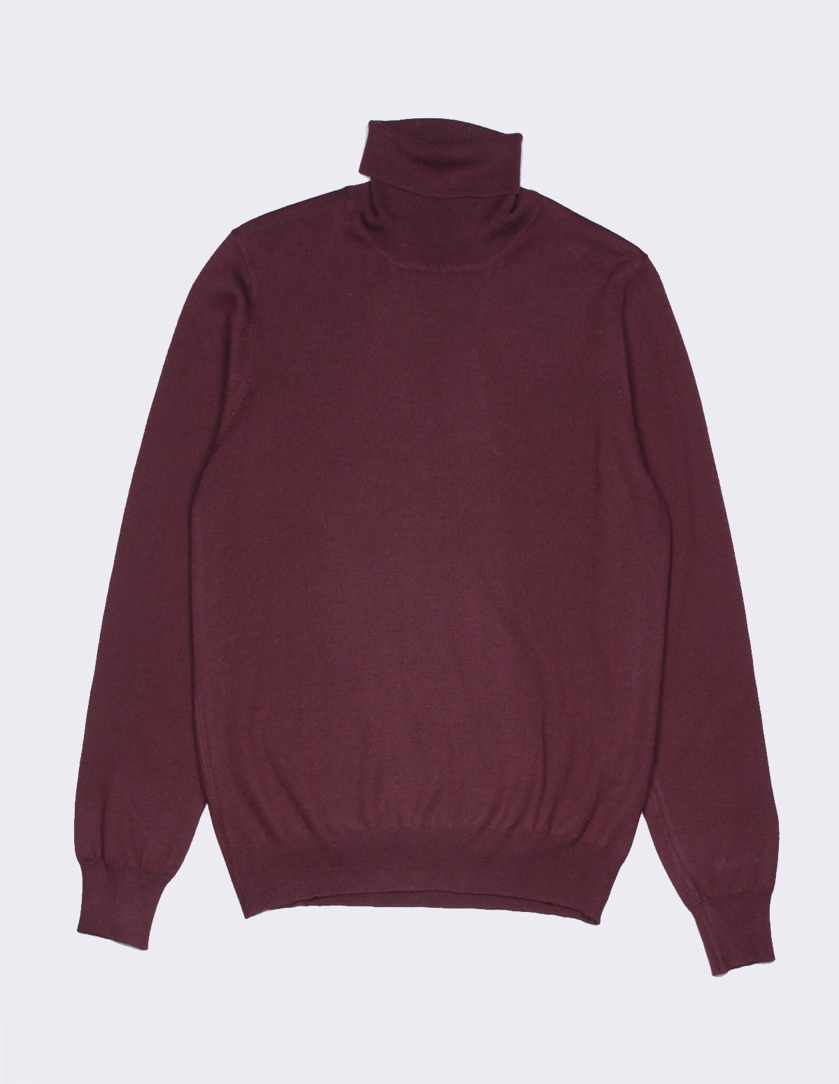 Ft Rollneck Sweater - BORDEAUX 291