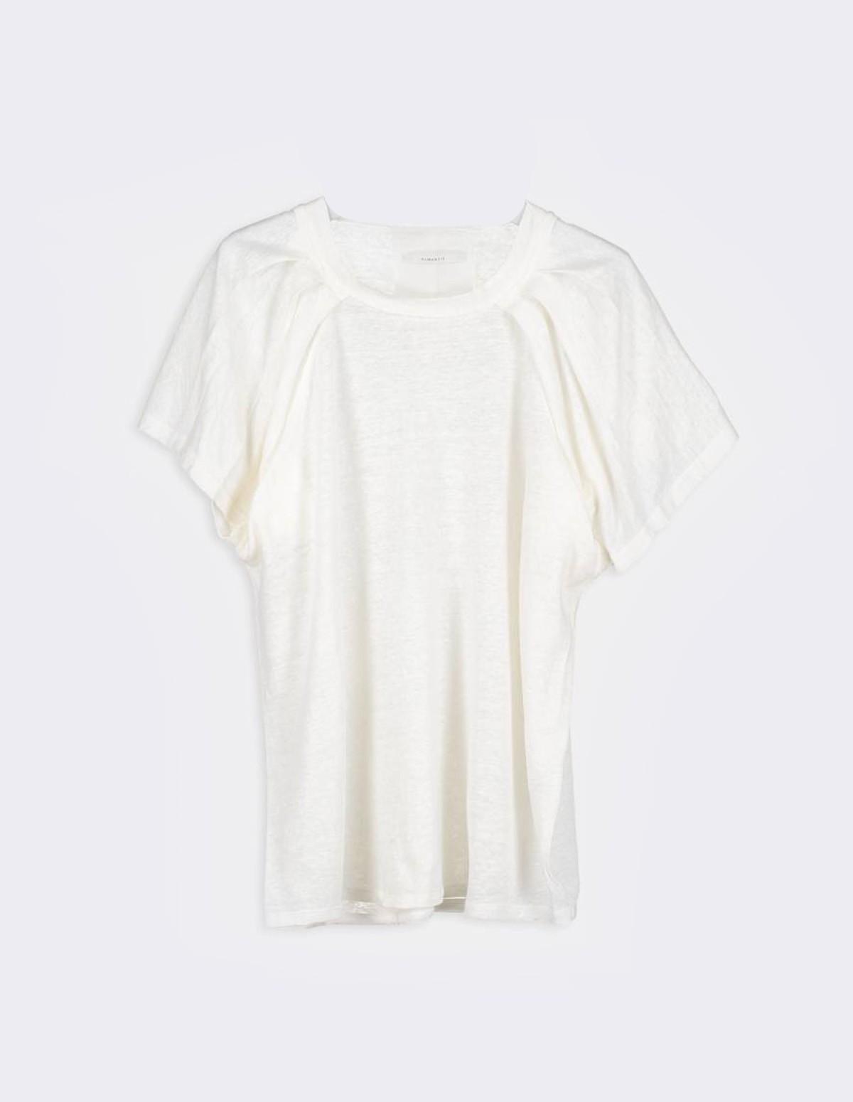 Huma Sonja Tee Shirt - ECRU