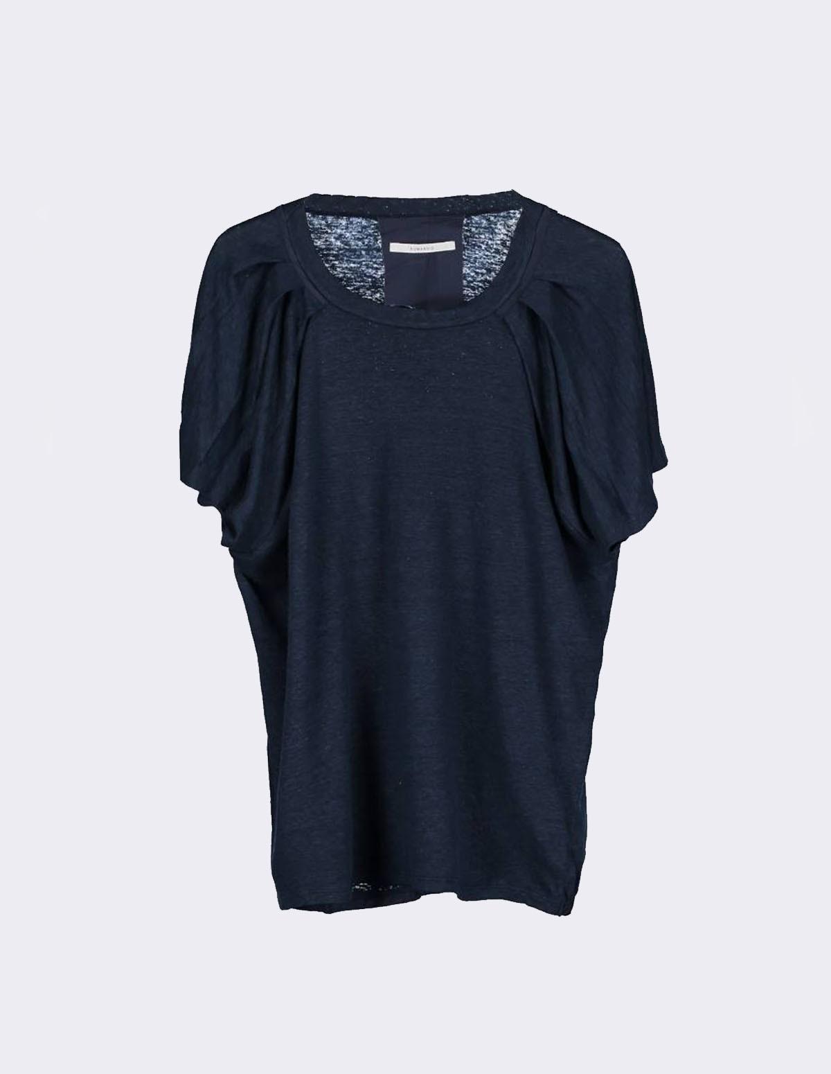 Huma Sonja Tee Shirt - NAVY