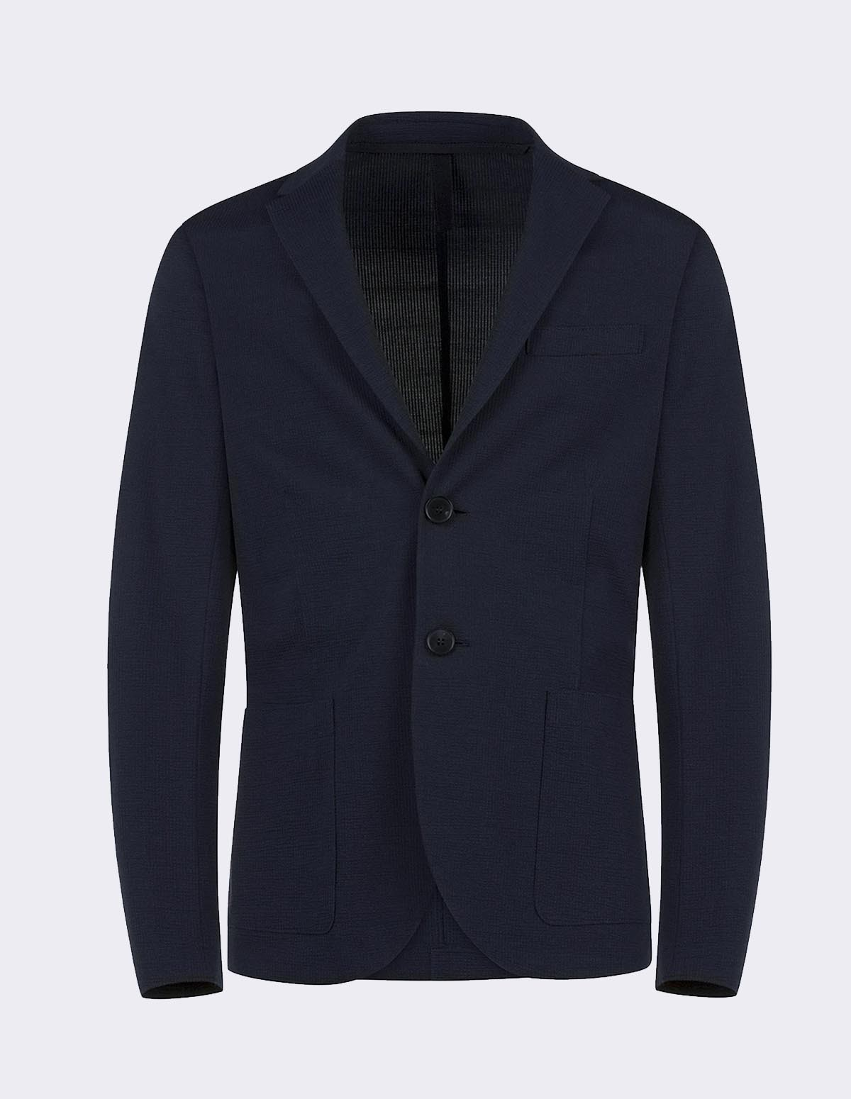 Hwl Men 2b Sartorial - NAVY BLUE