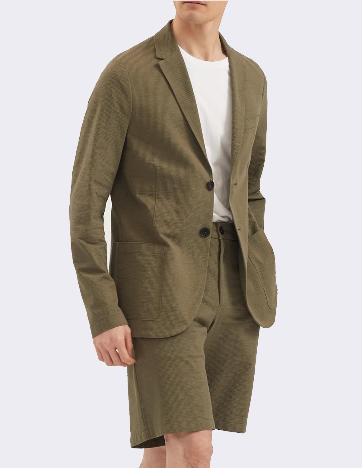 Hwl Men 2b Sartorial - MILITARY GREEN