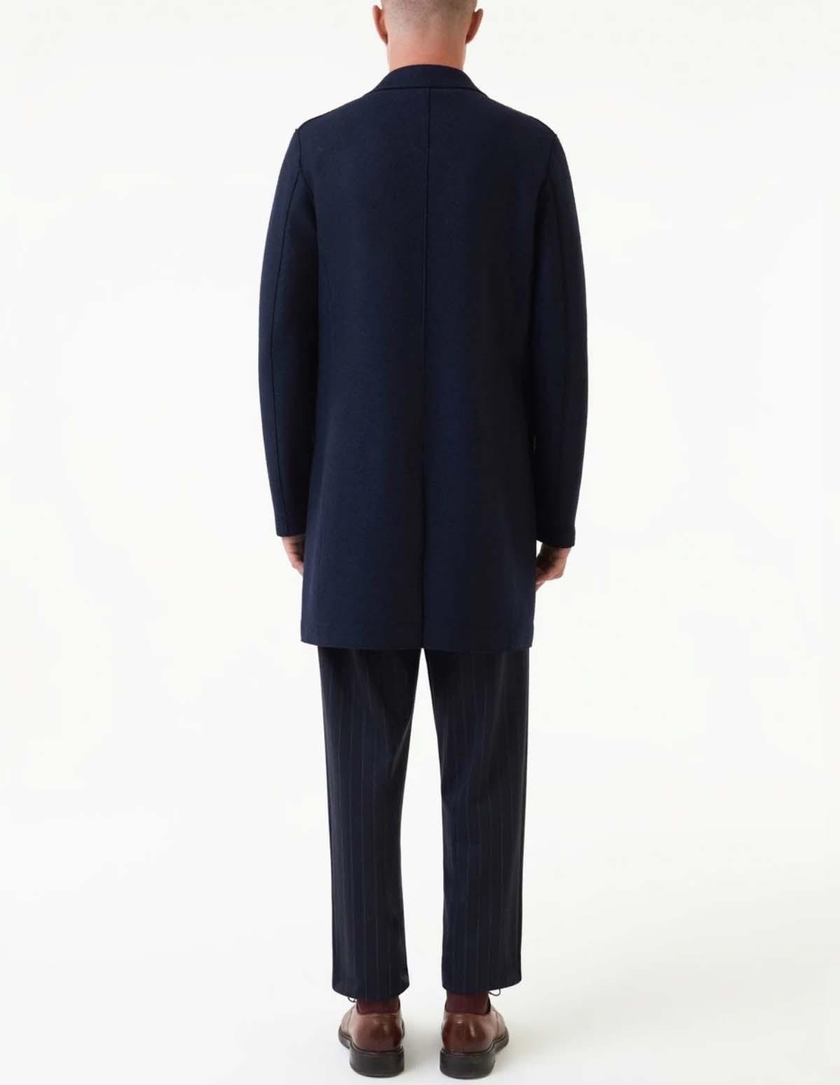 Hwl Men Boxy Coat