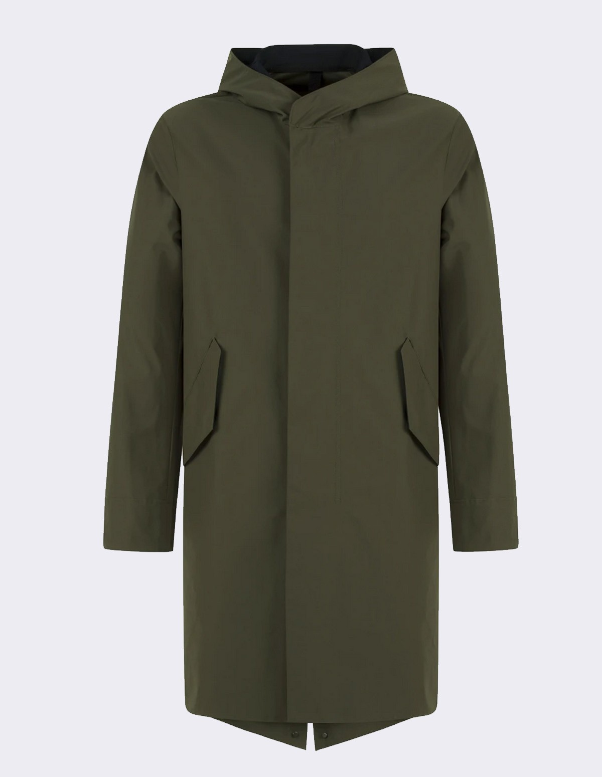 Hwl Men Bicolo Fishtale Parka - MILITARY G