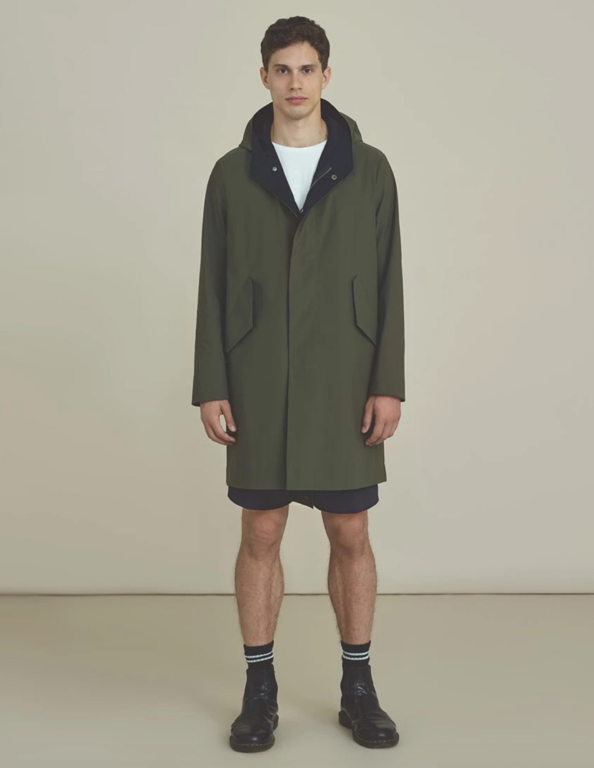 Hwl Men Bicolo Fishtale Parka