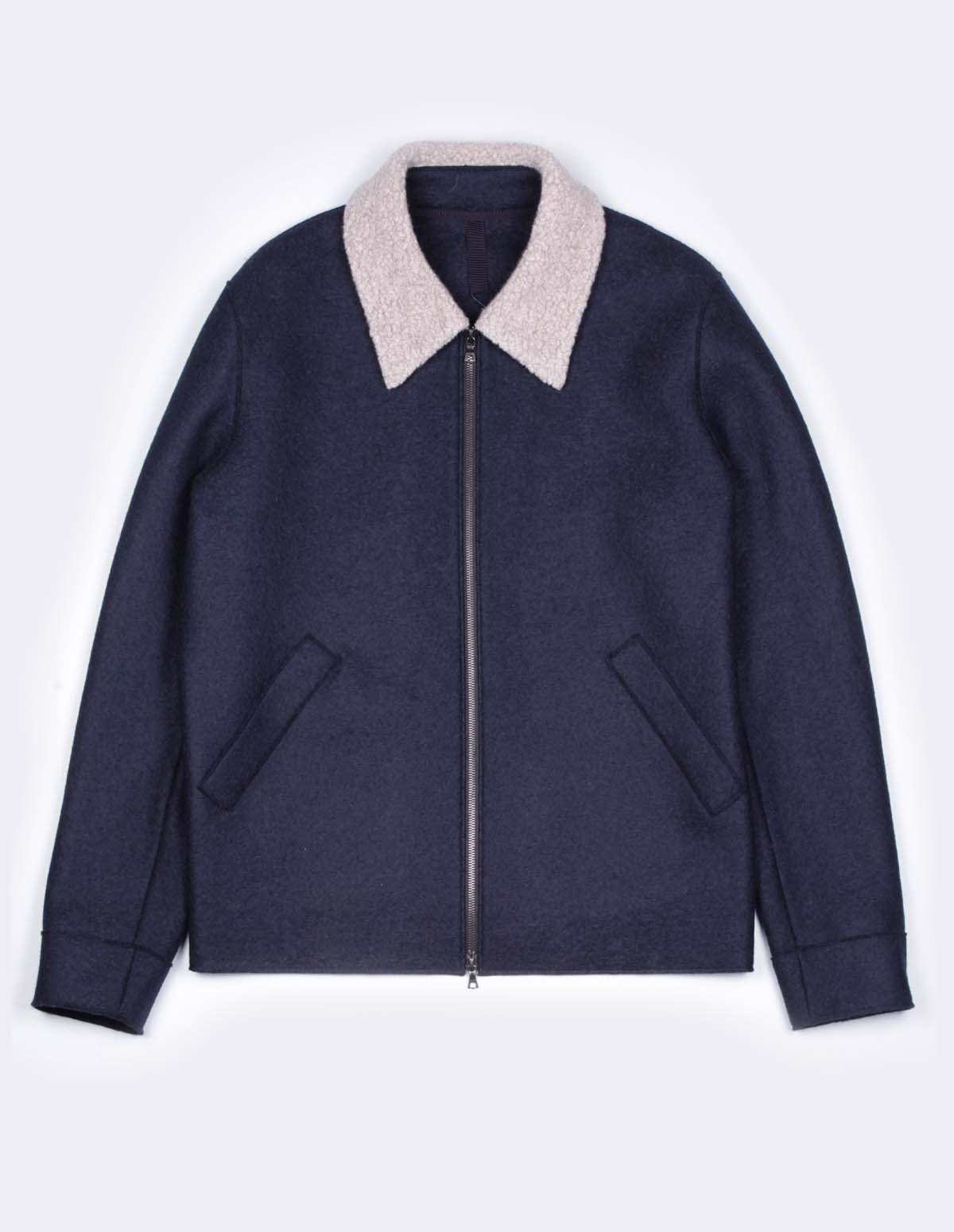 Hwl Golf Jacket Pressed Exclu - DARK BLUE