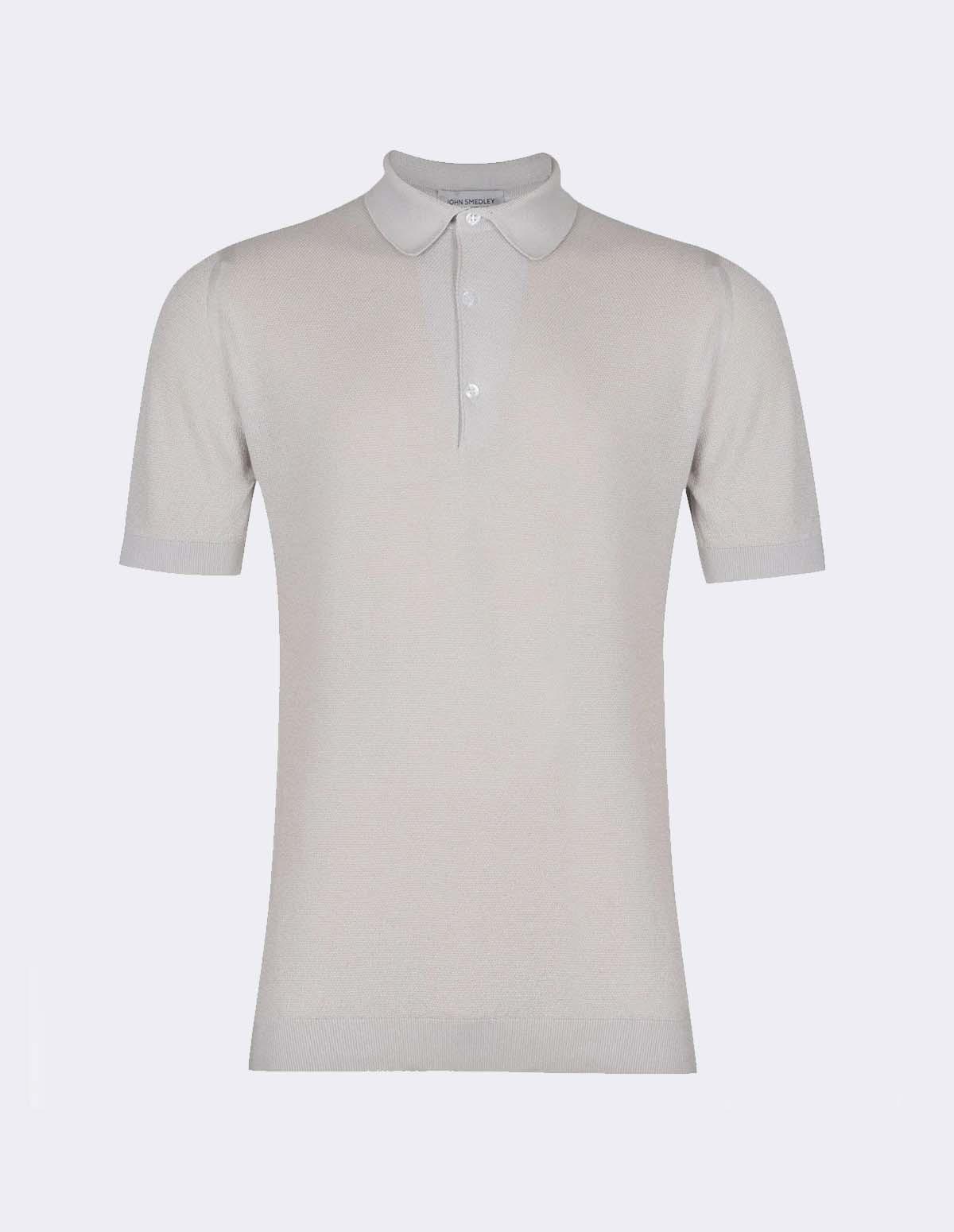 Roth Pique Shirt Ss - CLOUD