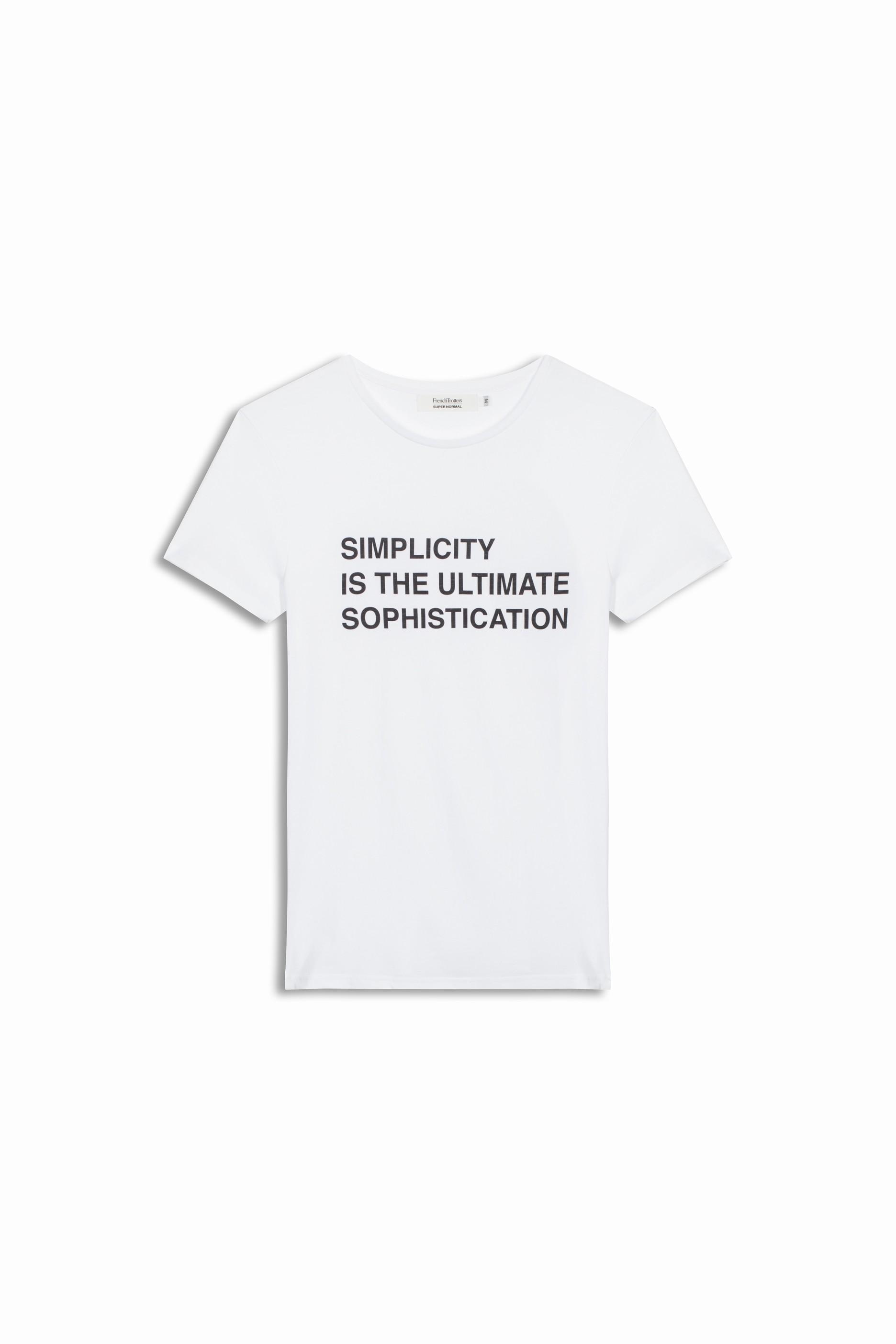MARK SIMPLICITY - WHITE