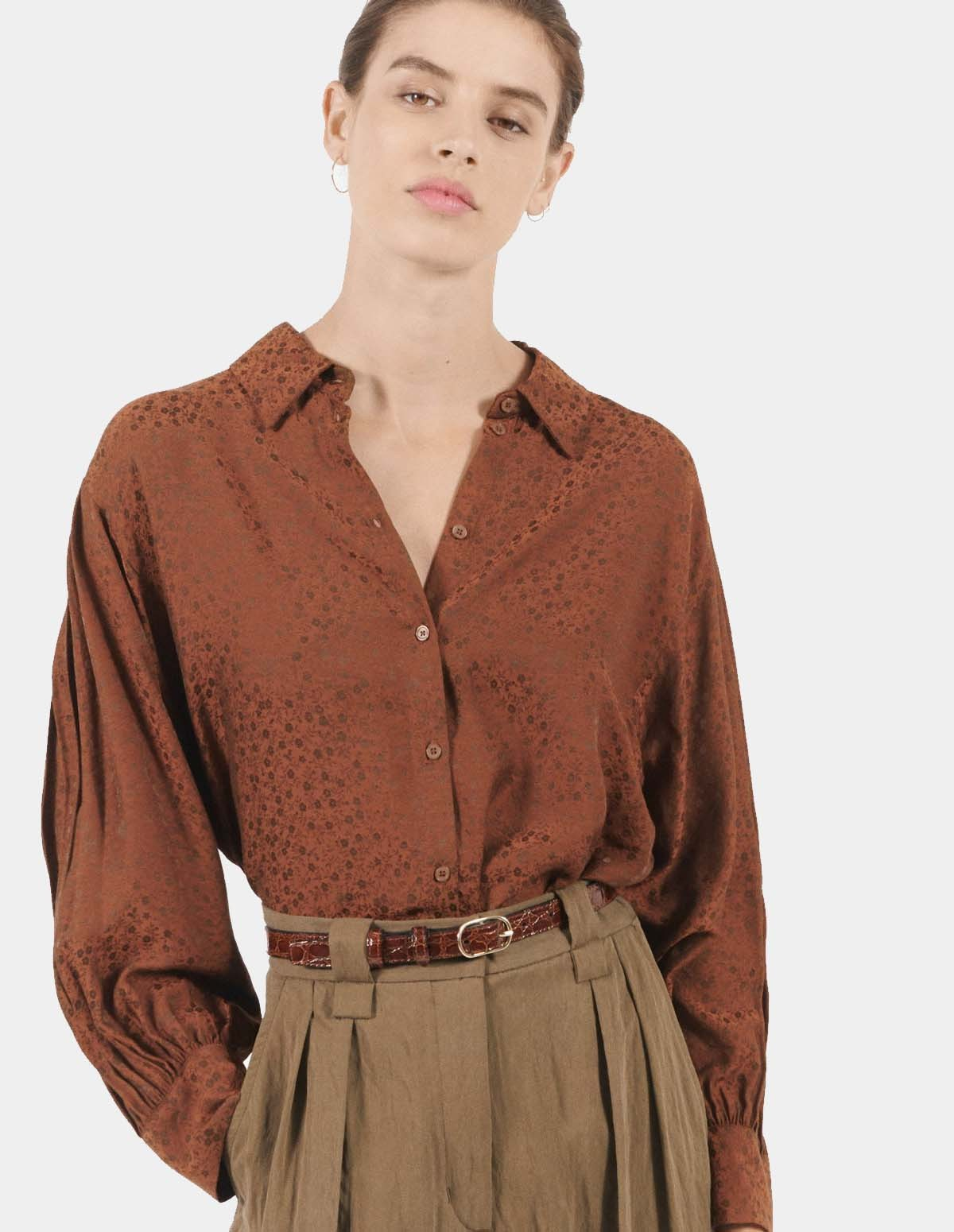 Masscob Lavinia Top - PECAN