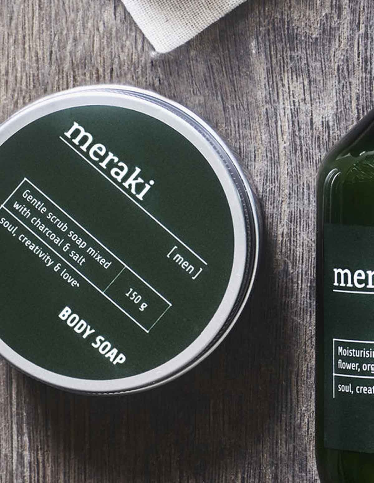 Meraki Body Soap Men