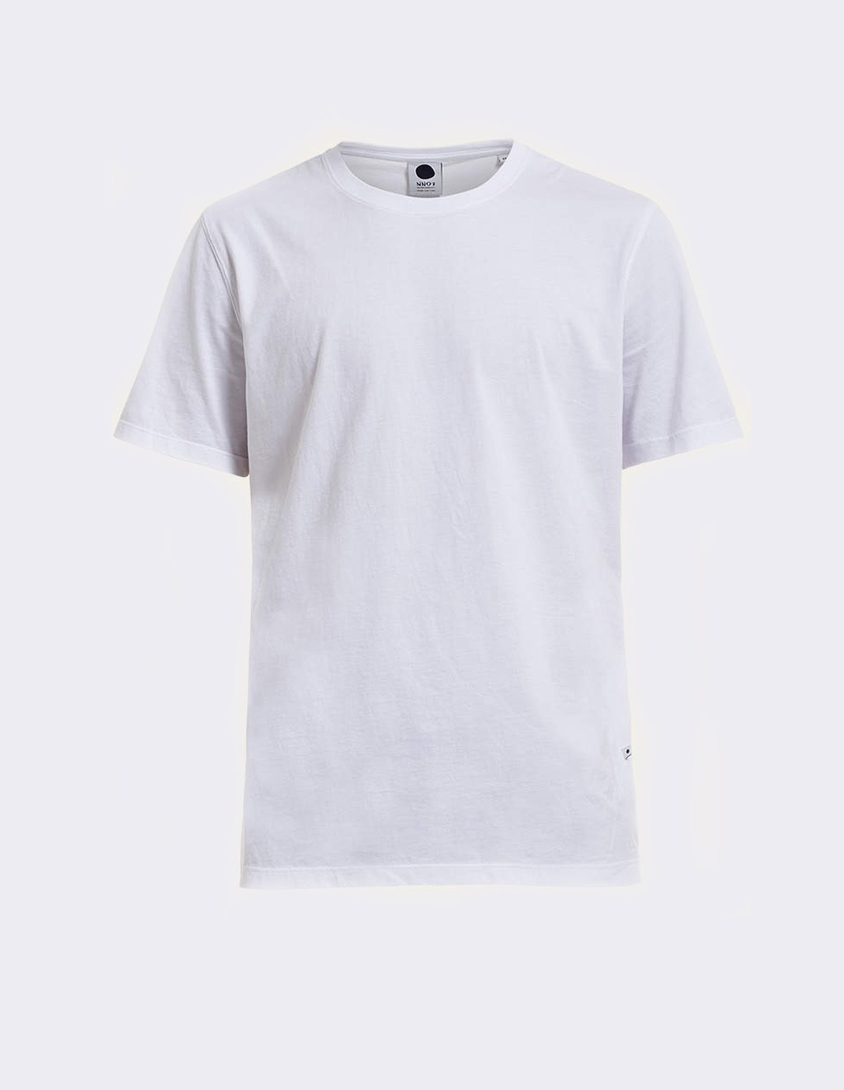 Pima Plain Tee - WHITE