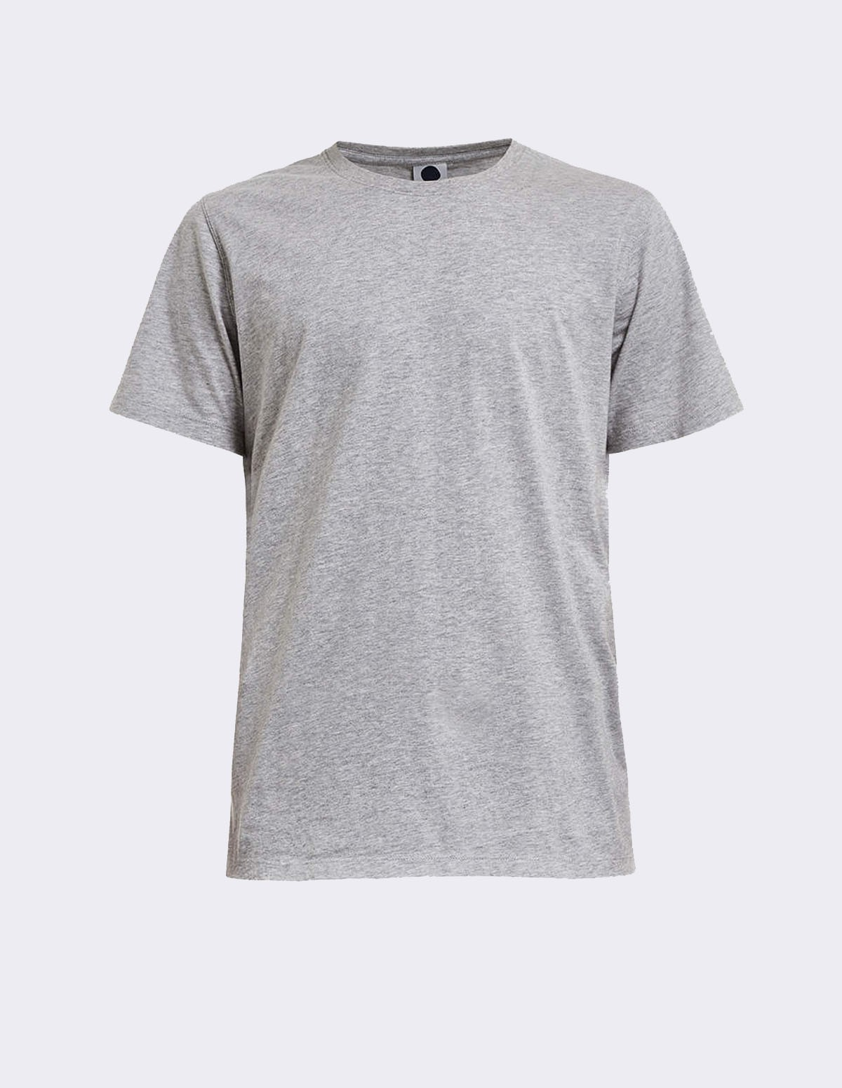 Pima Plain Tee - GREY