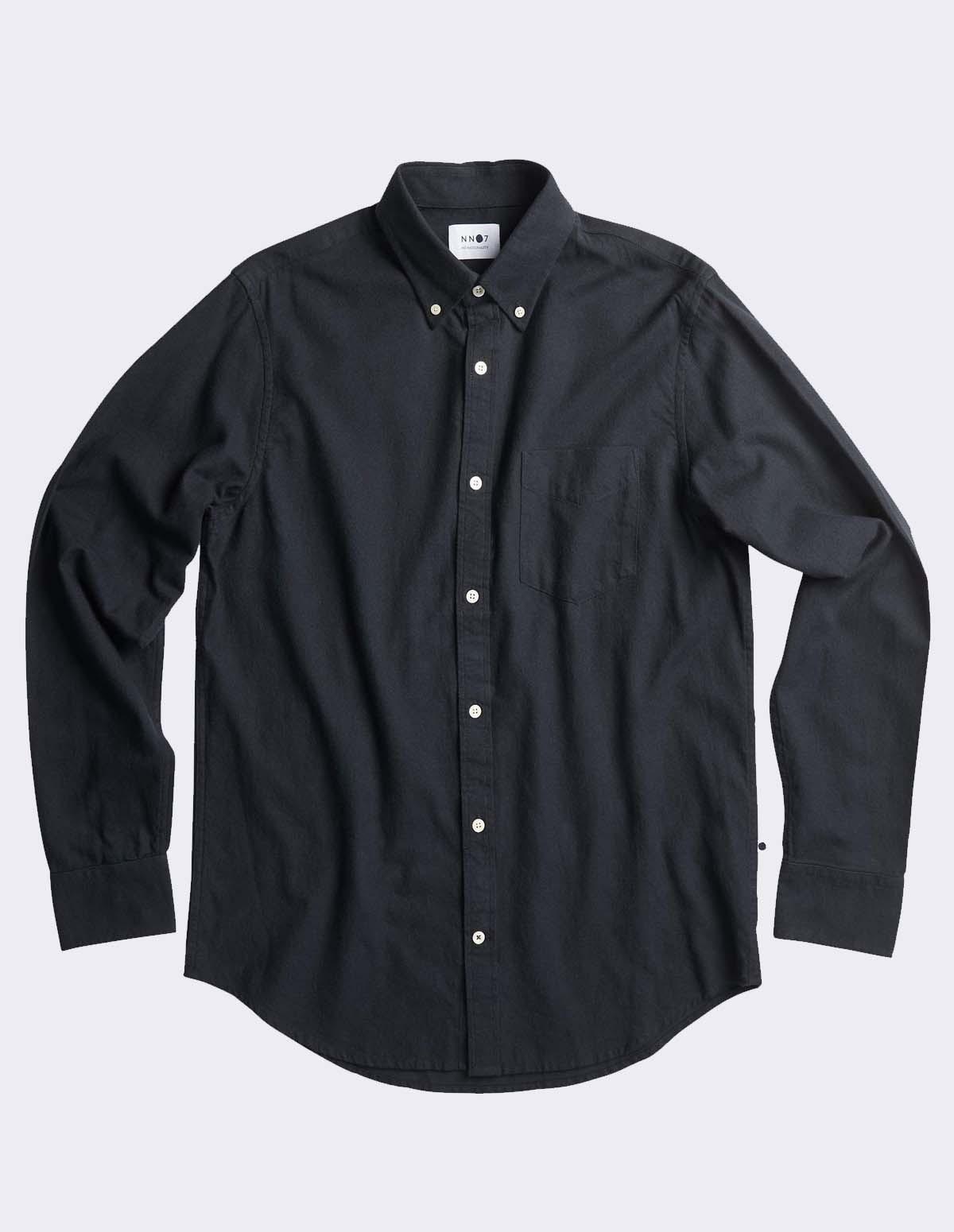 Nn07 Levon Shirt 5159 - 999 NOIR
