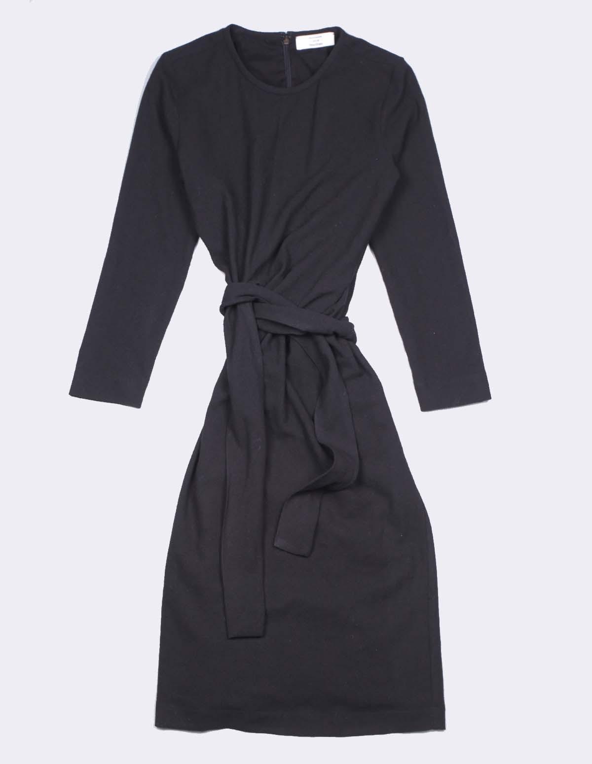Pom 3184f/40245 Exclu Ft Dress - 99 NOIR