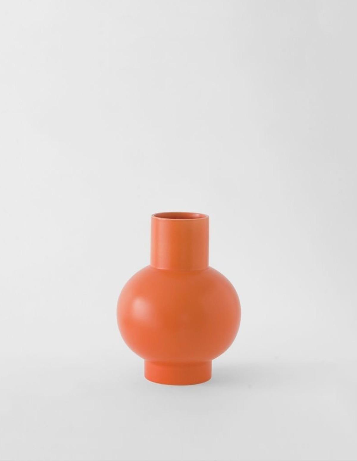 Raawii Small Vase - VIBRANT ORANGE