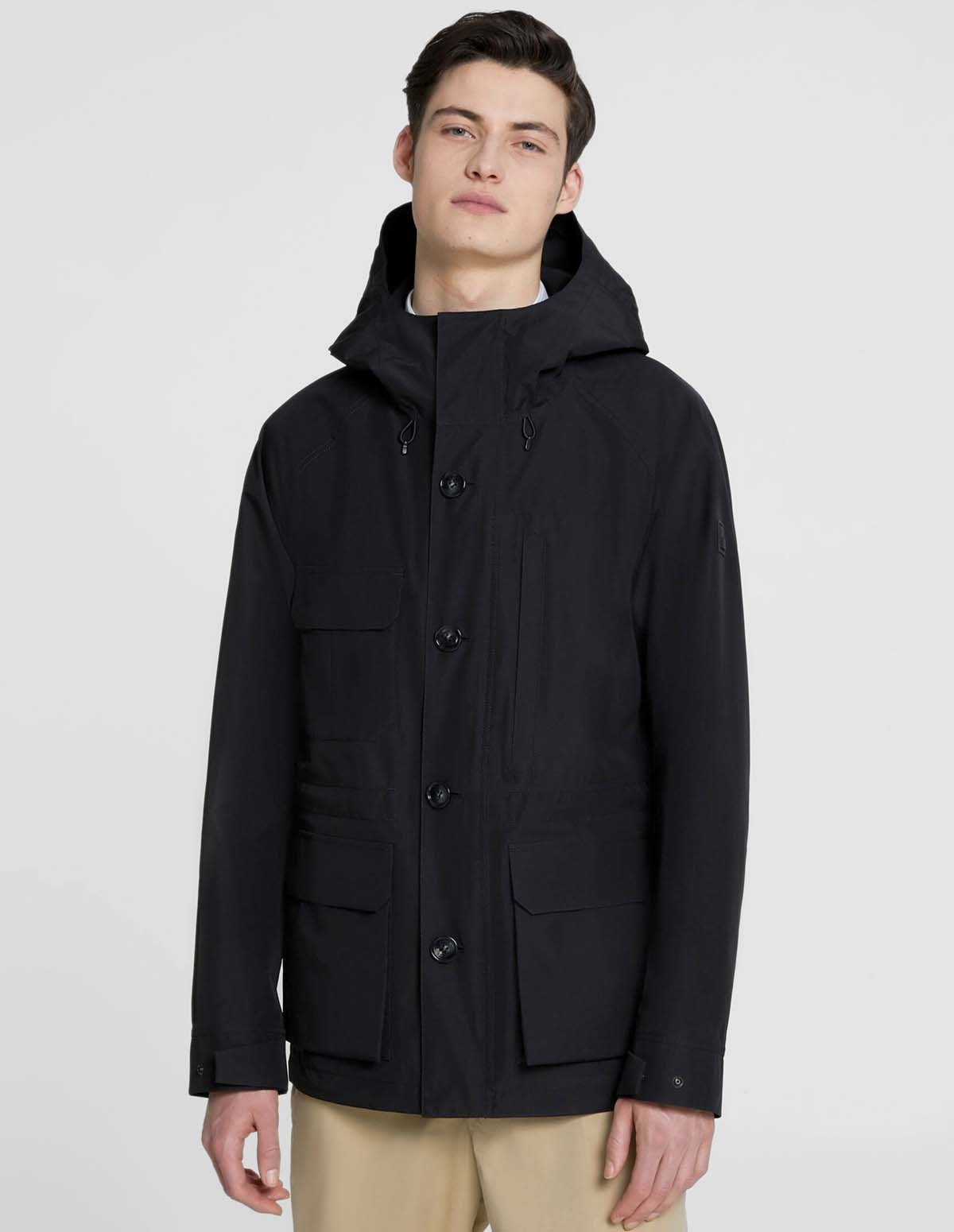 Wr Gtx Mountain Jkt - BLACK