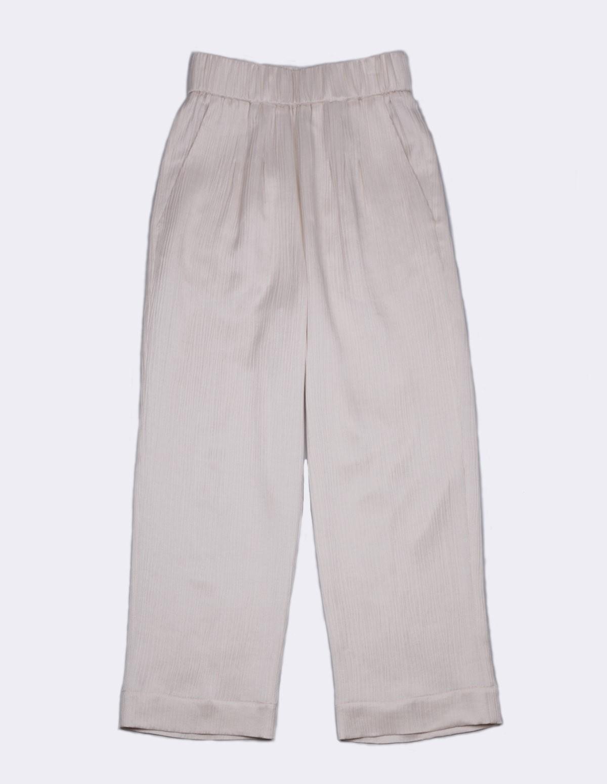 Pom 7142f/20668 Pants Exclu Ft - 15 ECRU