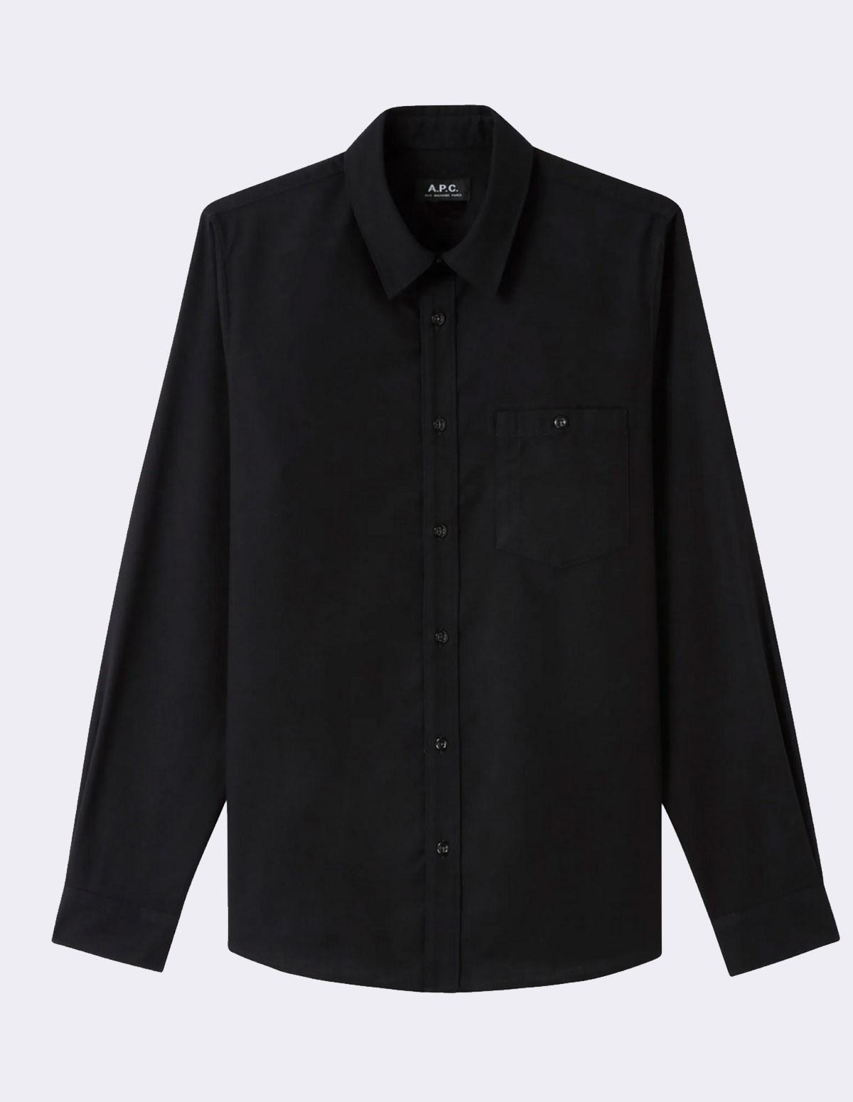 Apc Chicago Shirt - NOIR