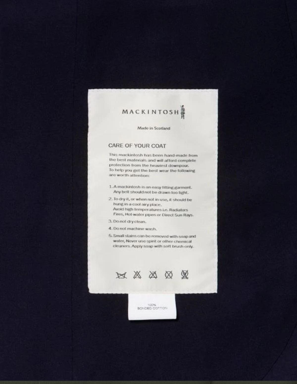 Mac Rop6718 Oxford Overcoat
