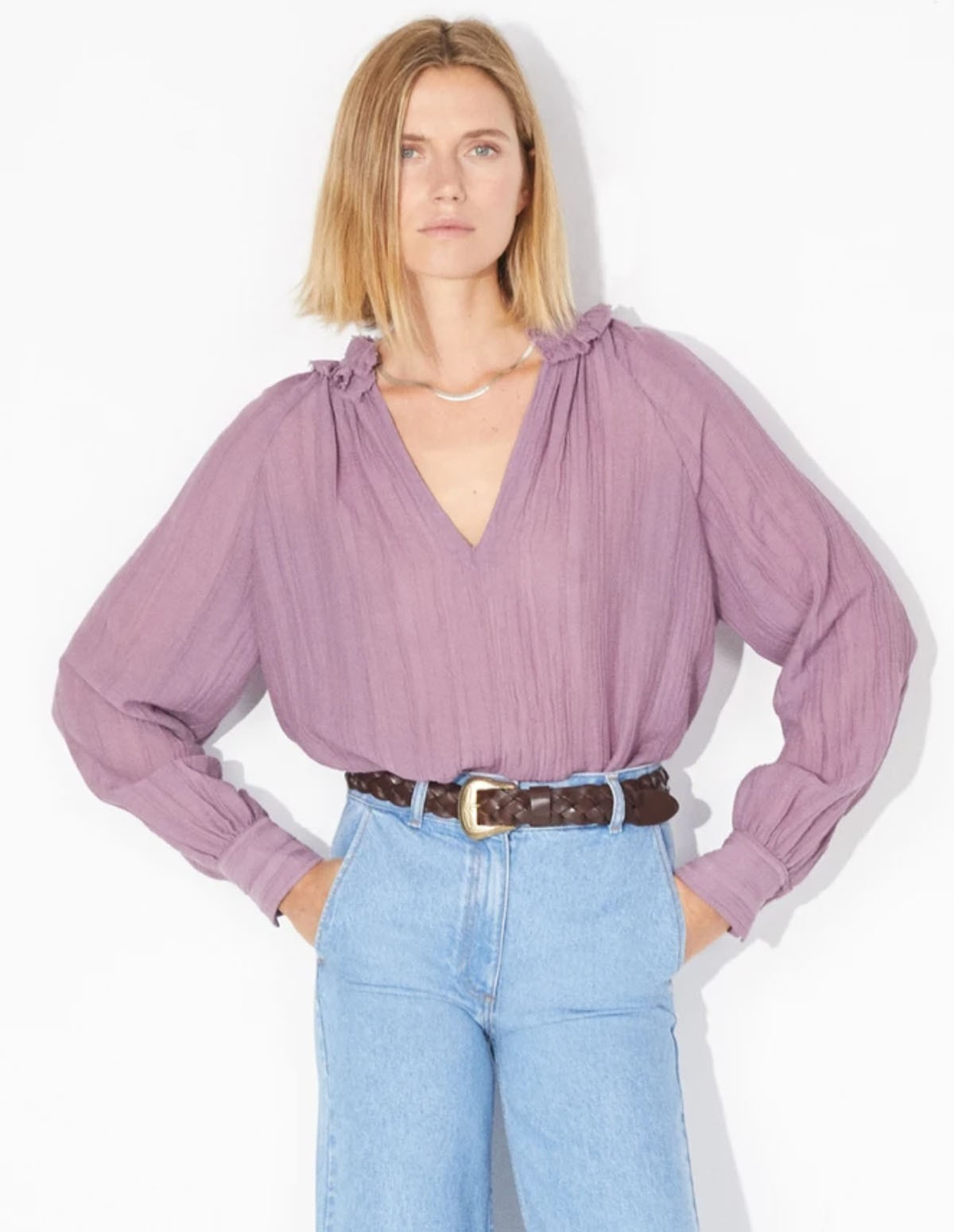 Masscob Digue Top - MAUVE