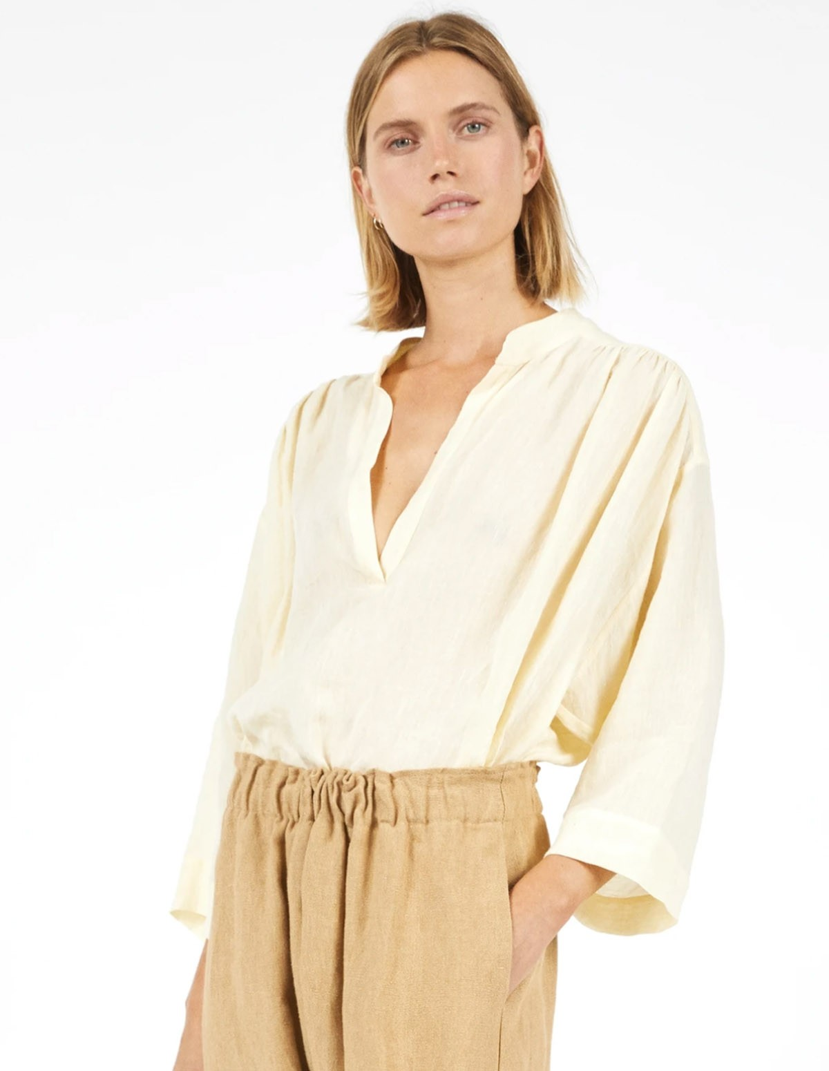 Masscob Piana Top - STRAW