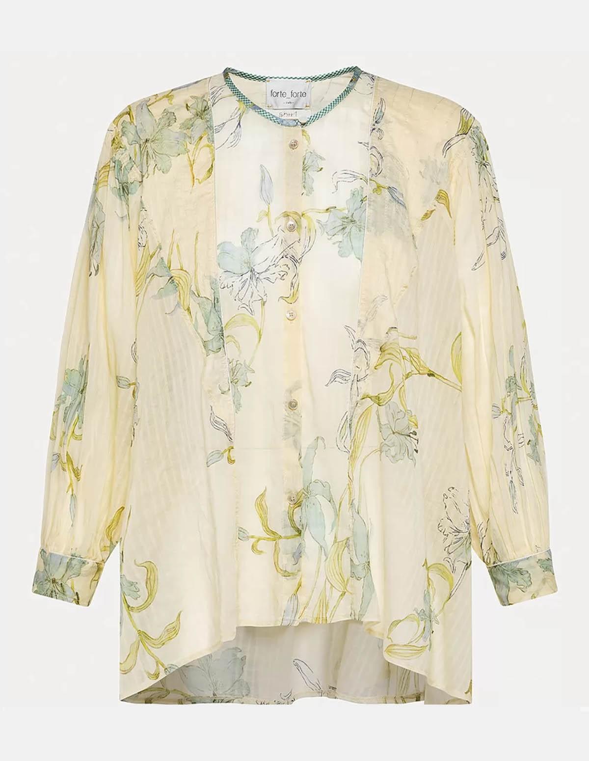 Forte 8094 Shirt - IVORY