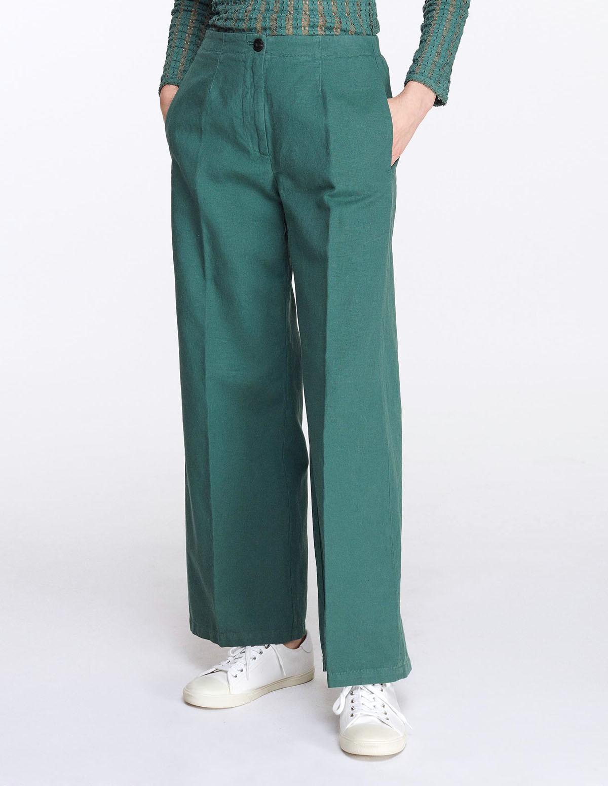 Pom 7128/10547 Pants - LICHEN GREEN 77
