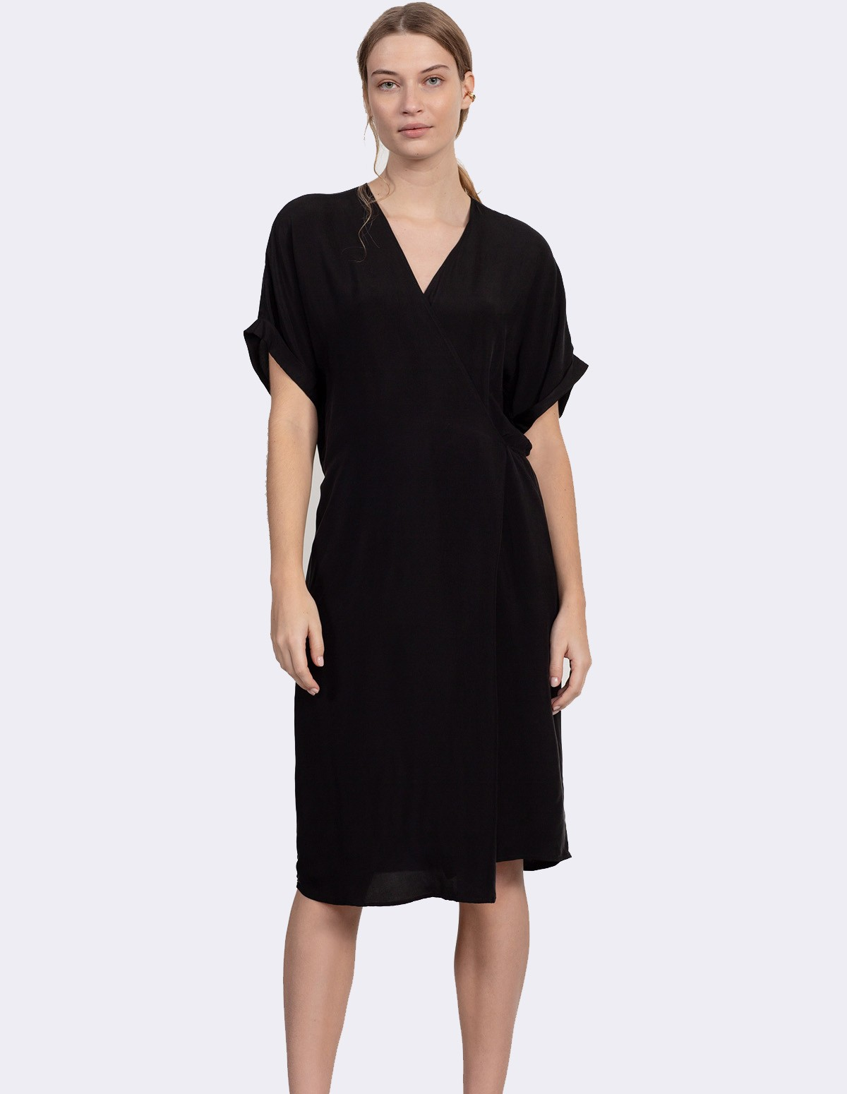Huma Spud Dress - BLACKISH