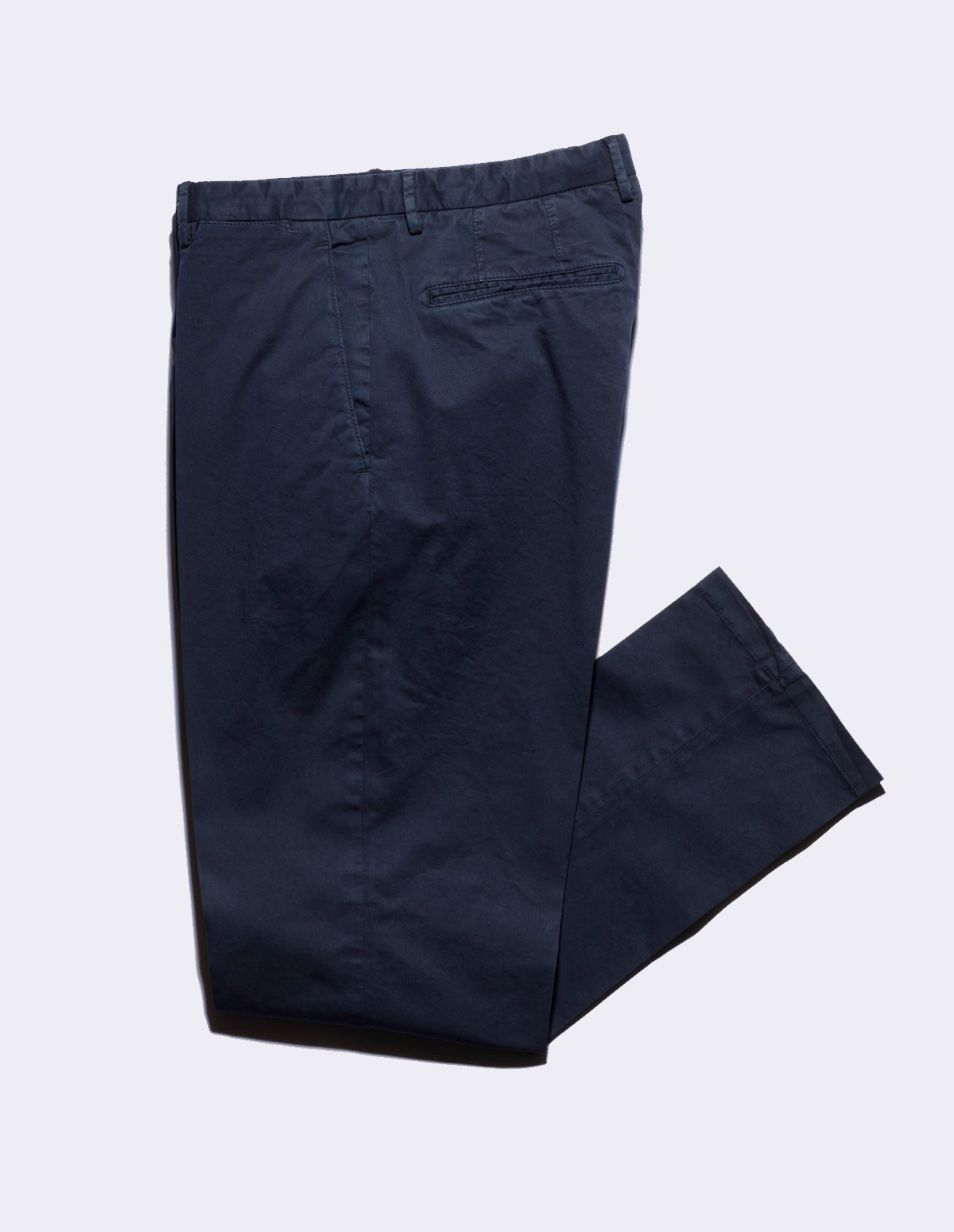 Boglioli Cotton Twill Pants - 0782 NAVY