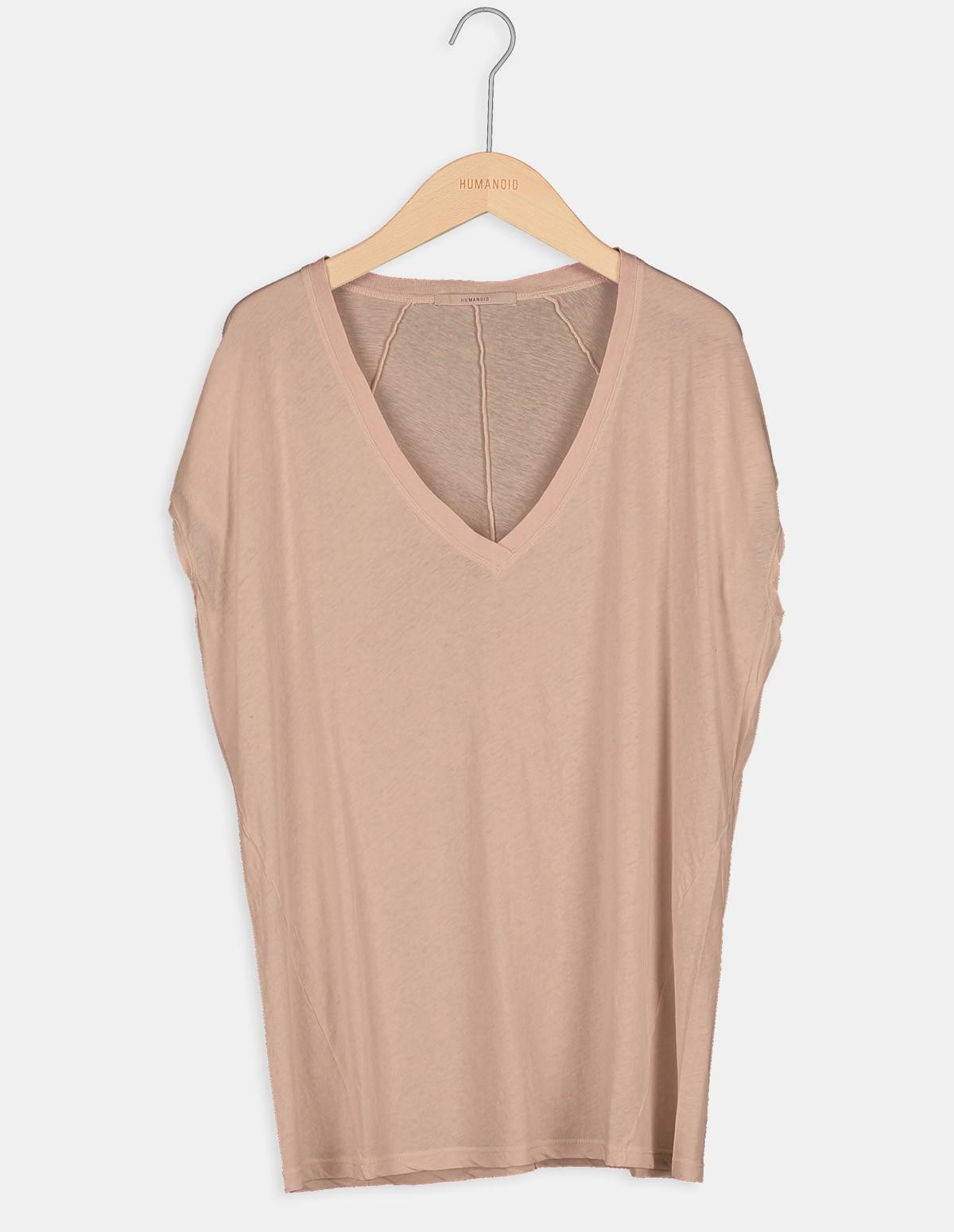 Huma Hybe T Shirt - PECAN