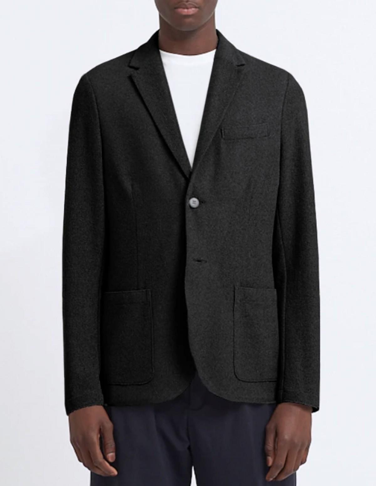Hwl Men 2b Sartorial Blazer Ri - GREY BLACK