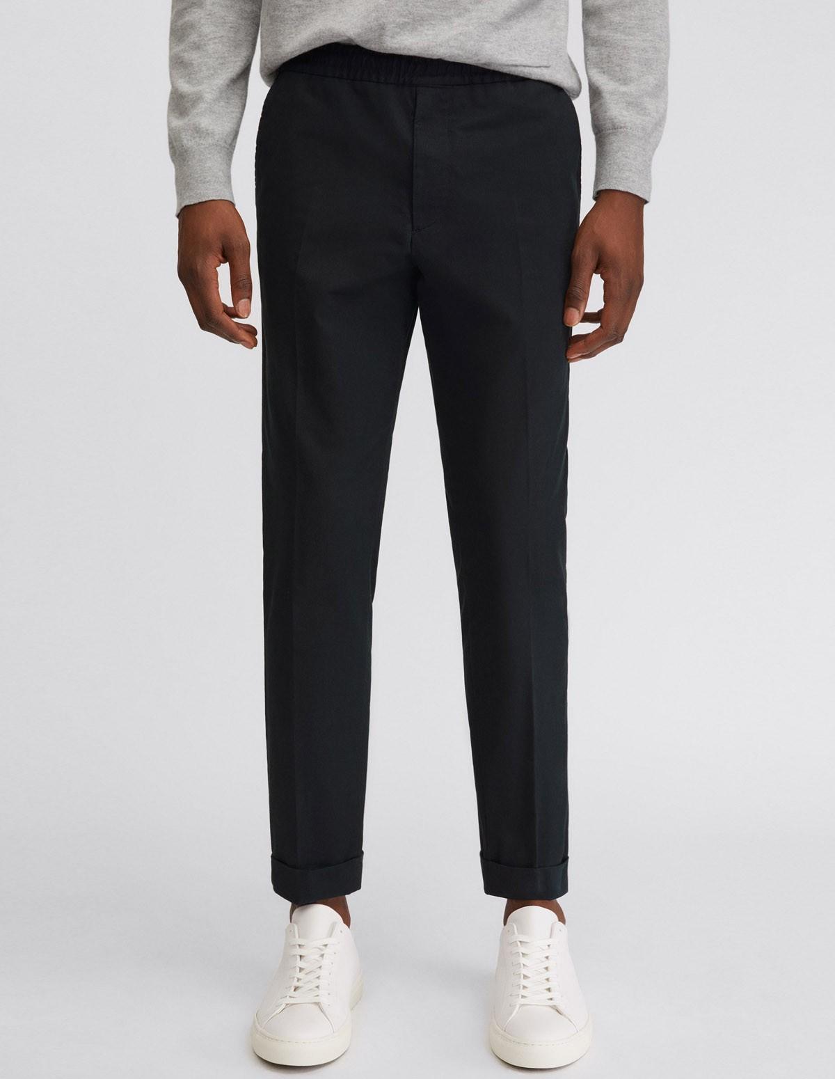 Fk Terry Cotton Trouser - BLACK 1433