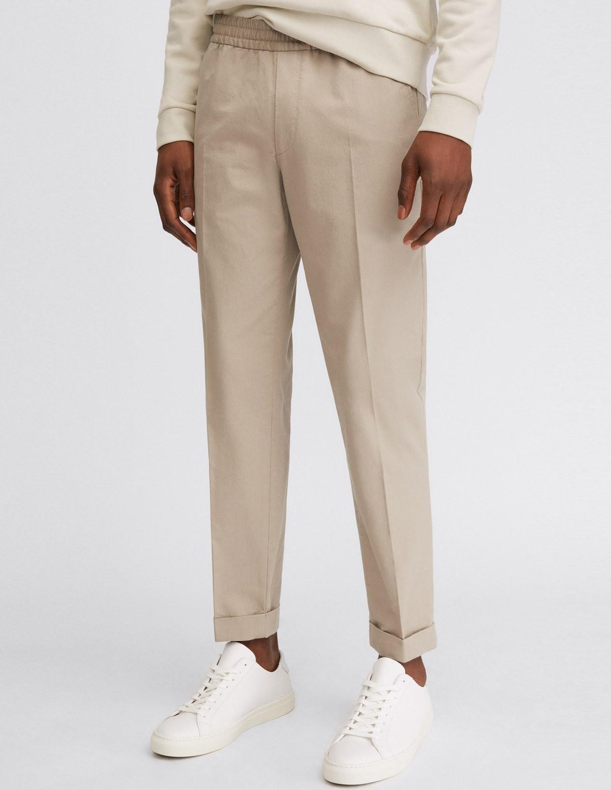 Fk Terry Cotton Trouser - DESERT 9109