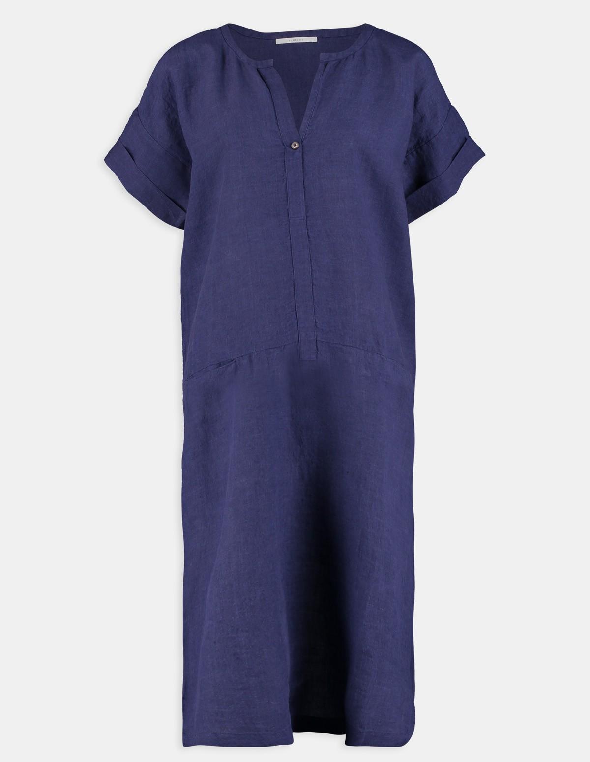Huma Taveti Dress - NIGHT