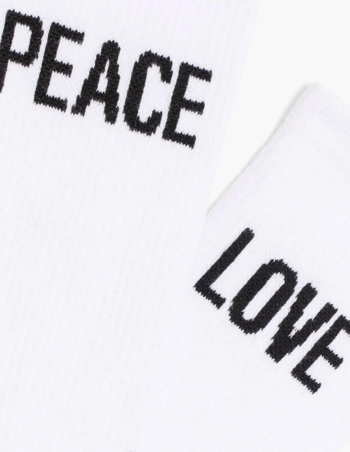 Mac 2-pack Peace X Love Socks