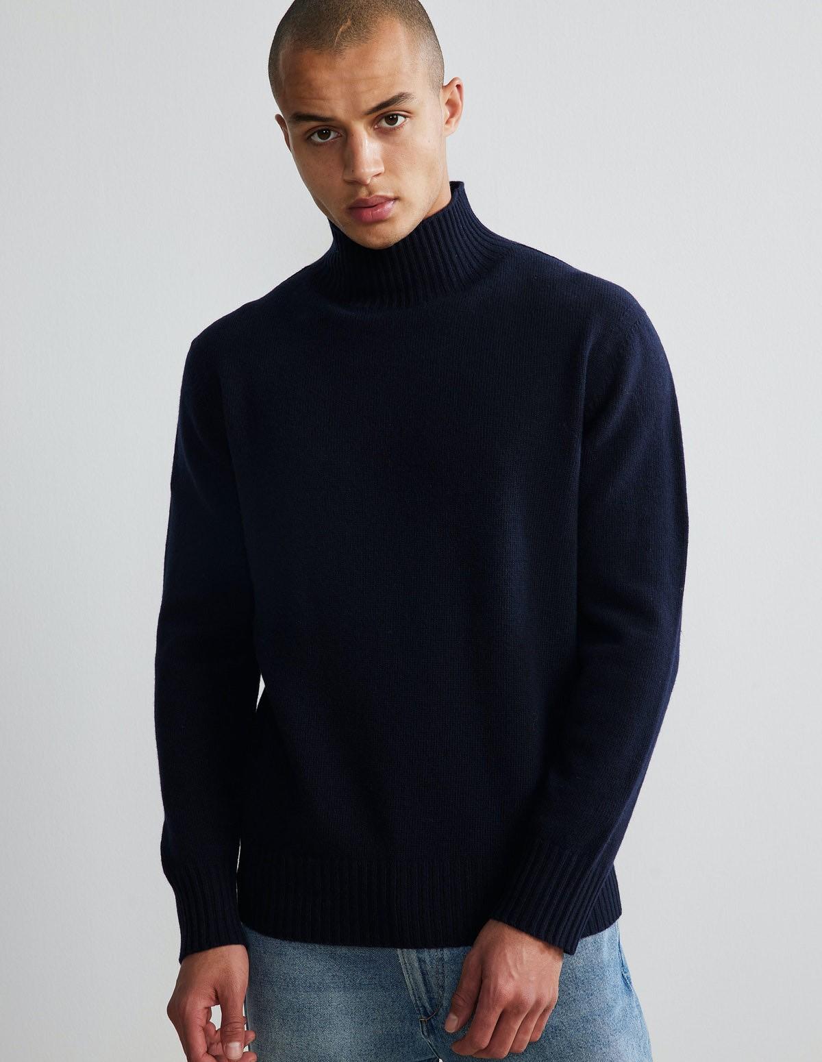 Nn07 Clark Sweater - 200 NAVY