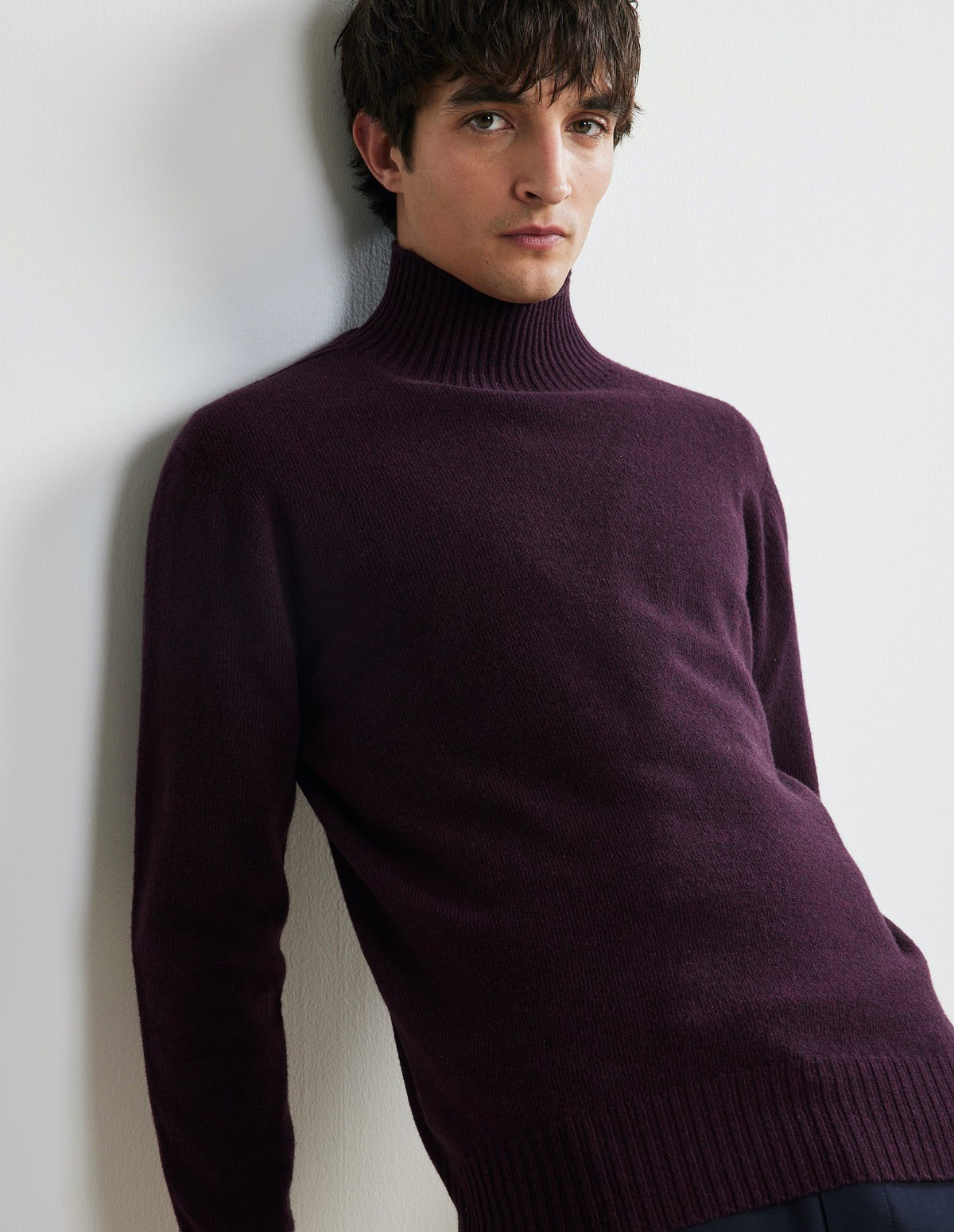 Nn07 Clark Sweater - 558 DARK WINE
