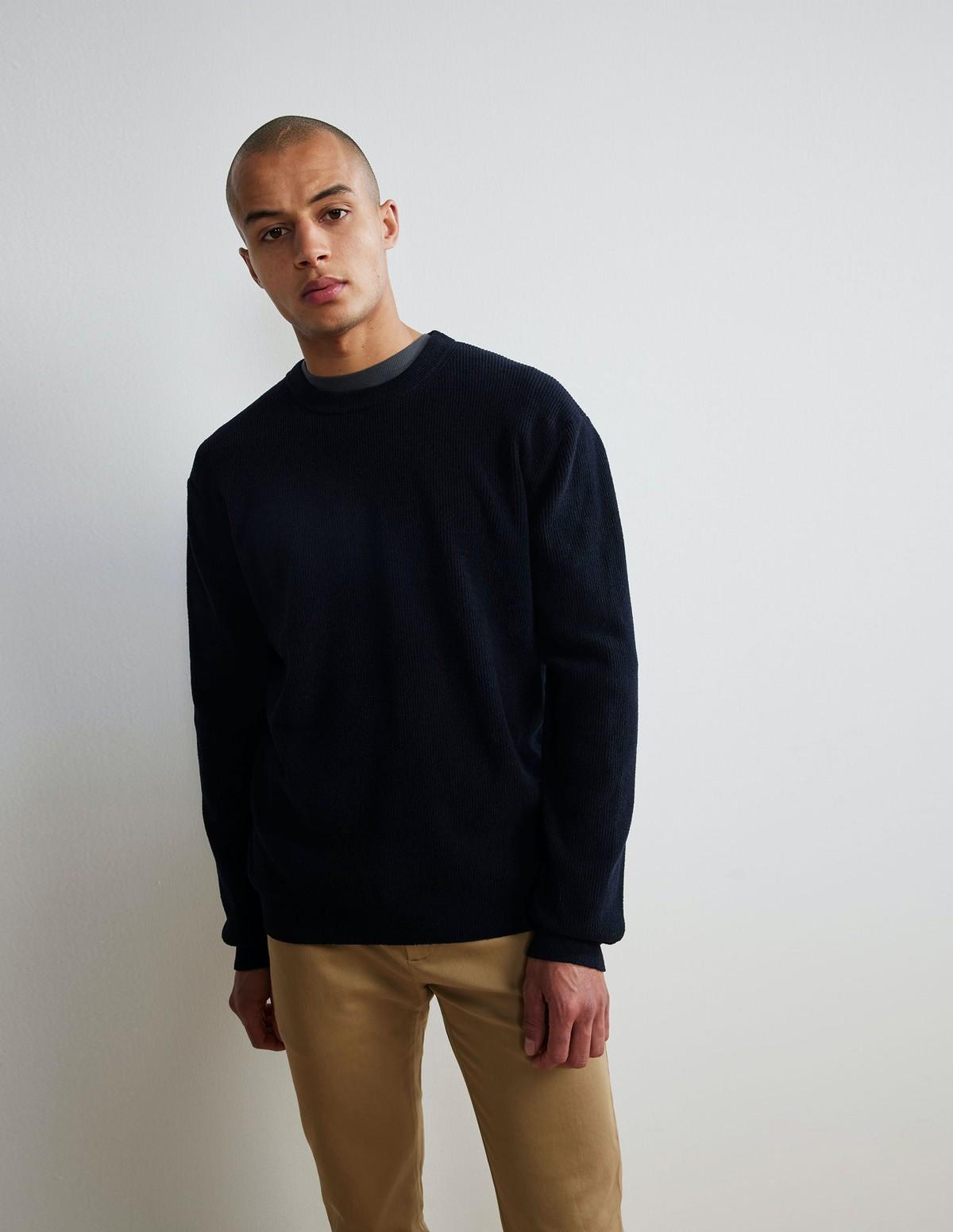 Nn07 Danny Sweater - 200 NAVY