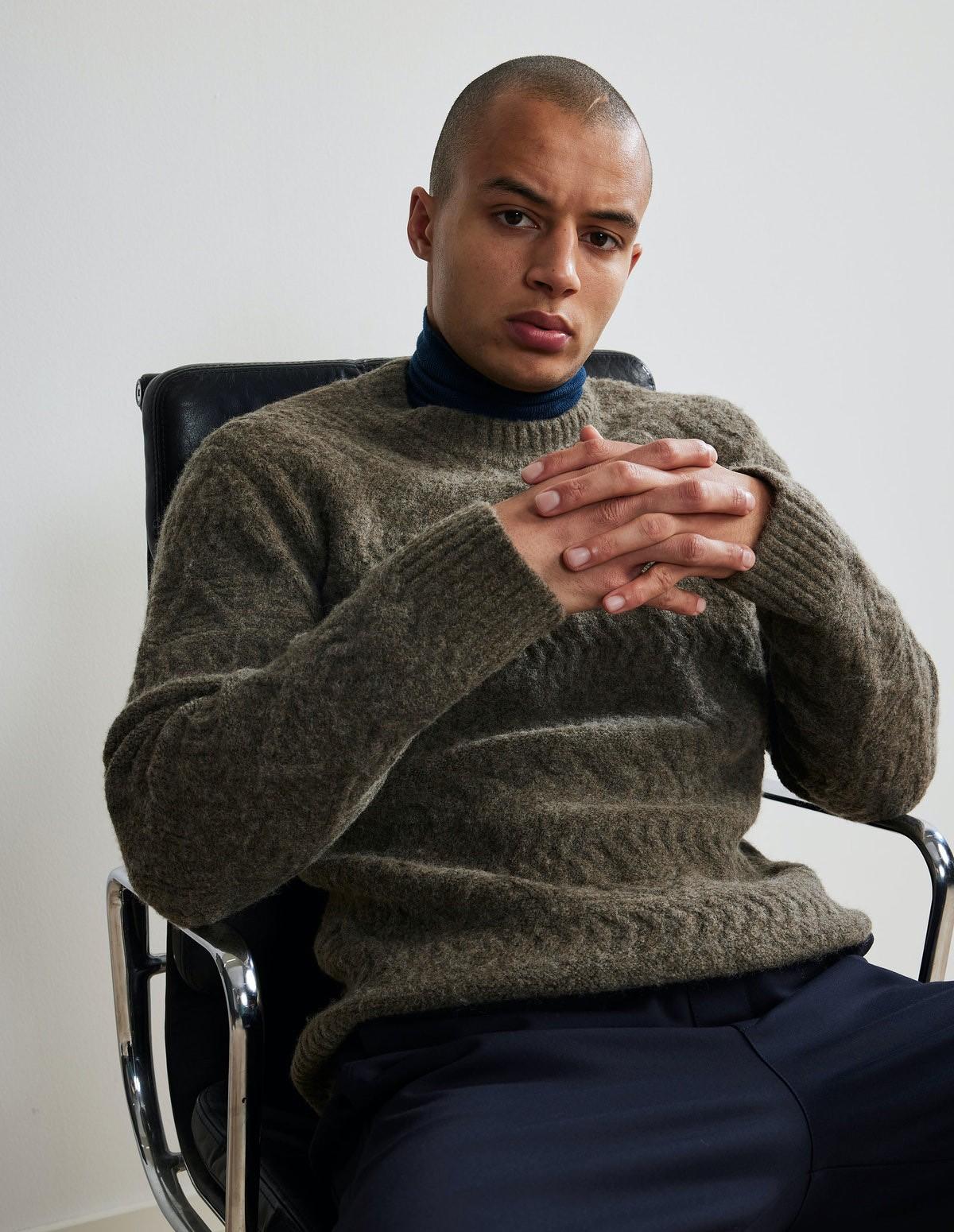 Nn07 Dominic Sweater - 106 CLAY